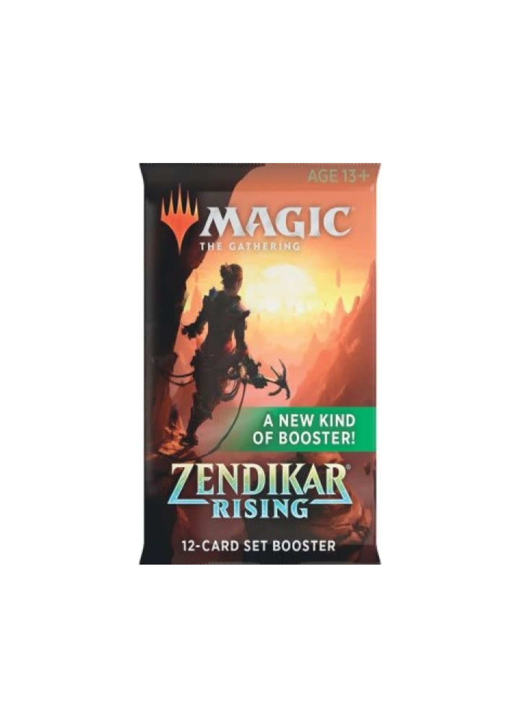 Mtg Zendikar Rising English Set Booster
