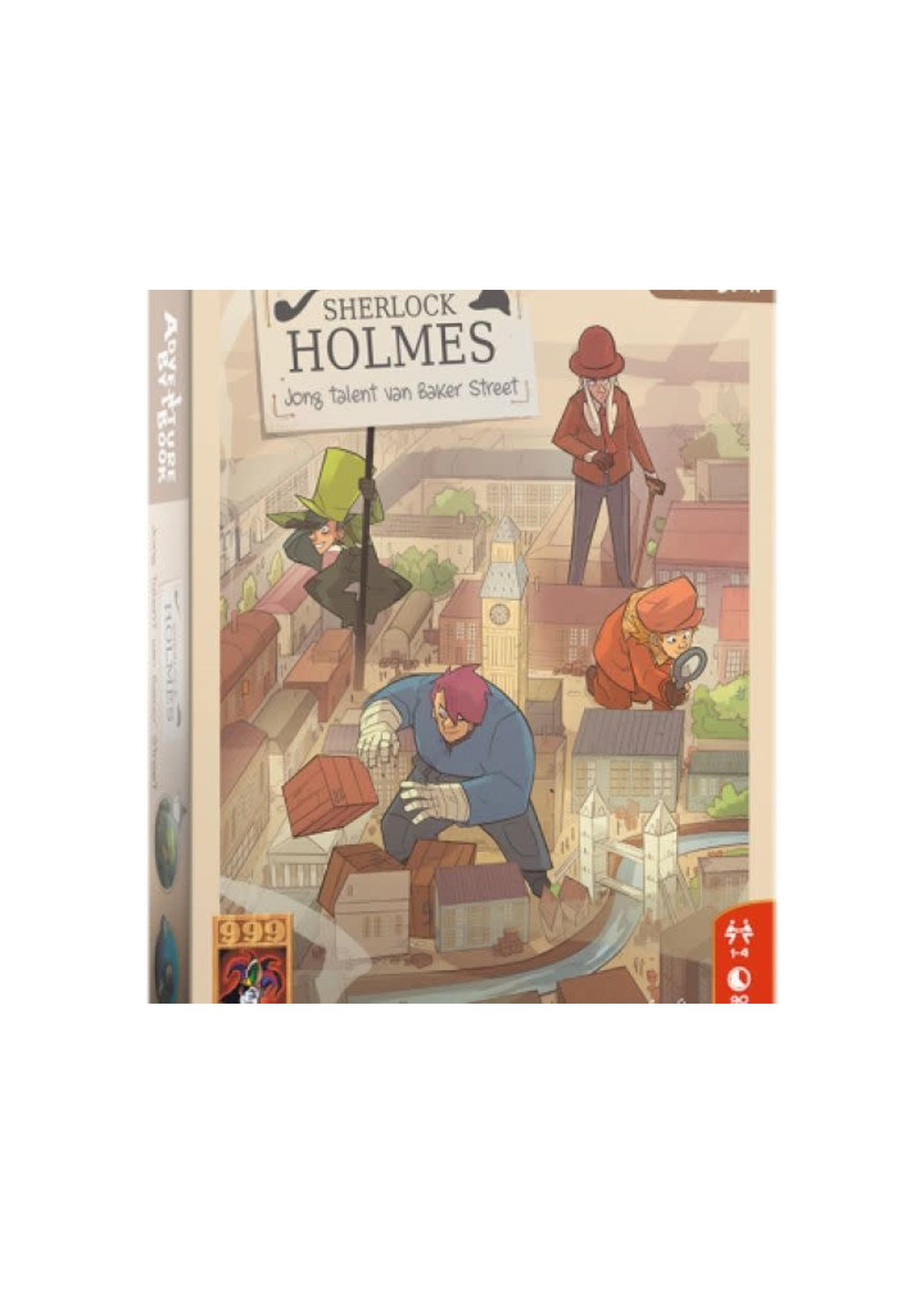 Adventure By Book: Sherlock Jong Talent  Van Baker Street