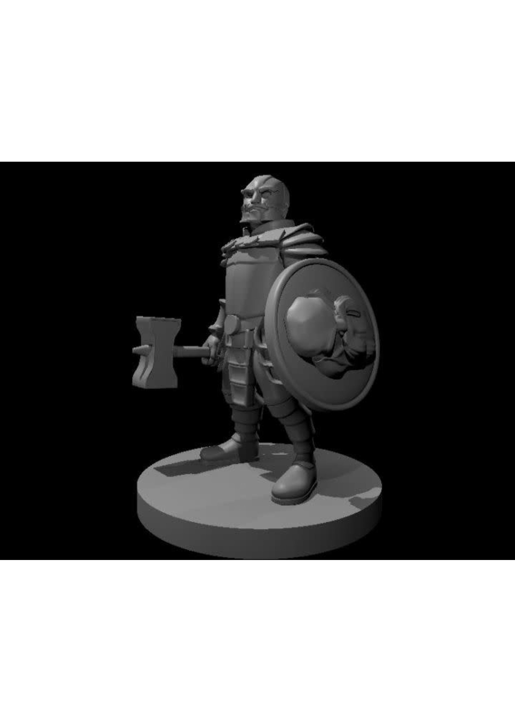 Animated Dwarven Armor (Patreon Mz4250)