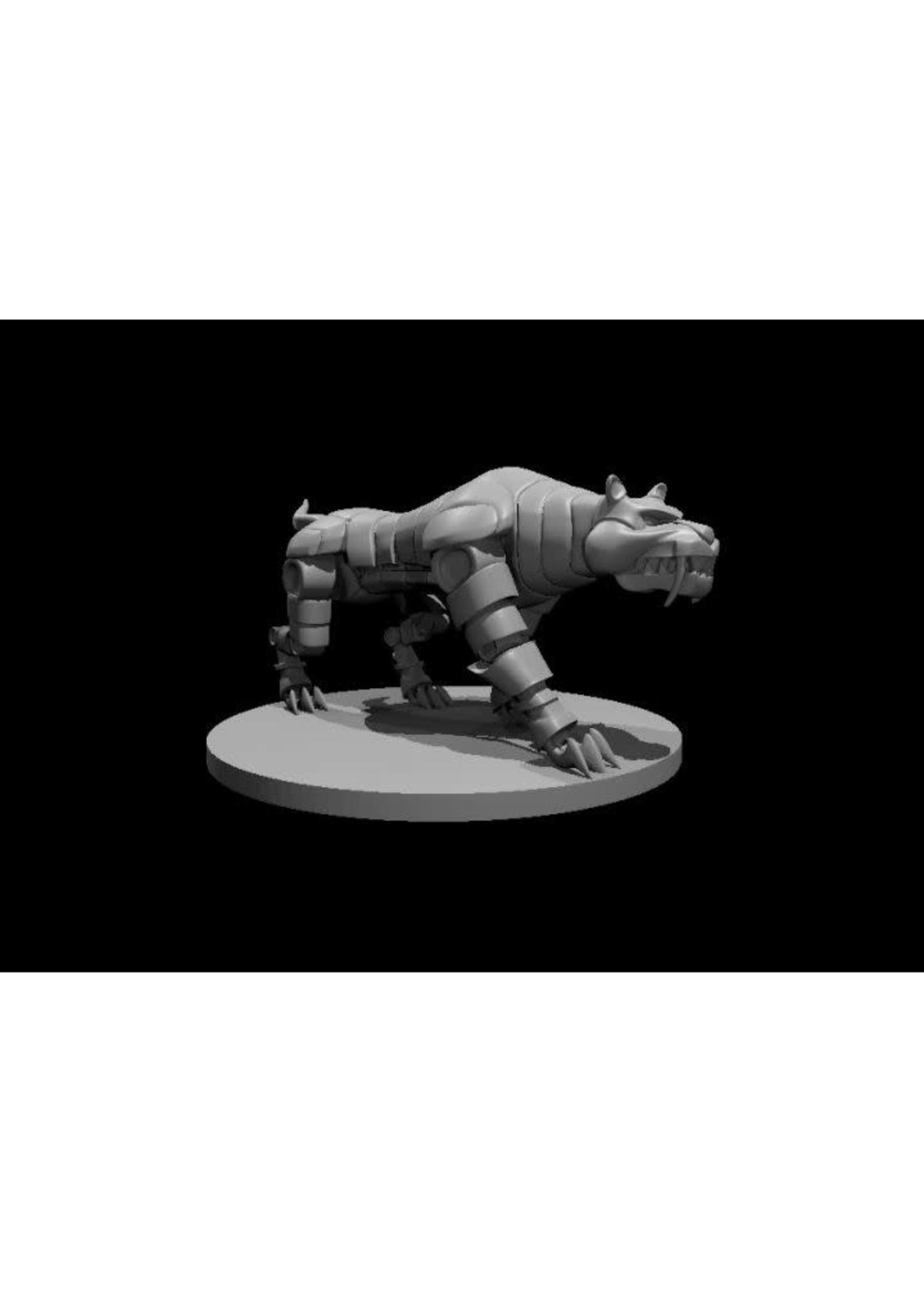 Clockwork Saber Tooth Tiger (Patreon Mz4250)