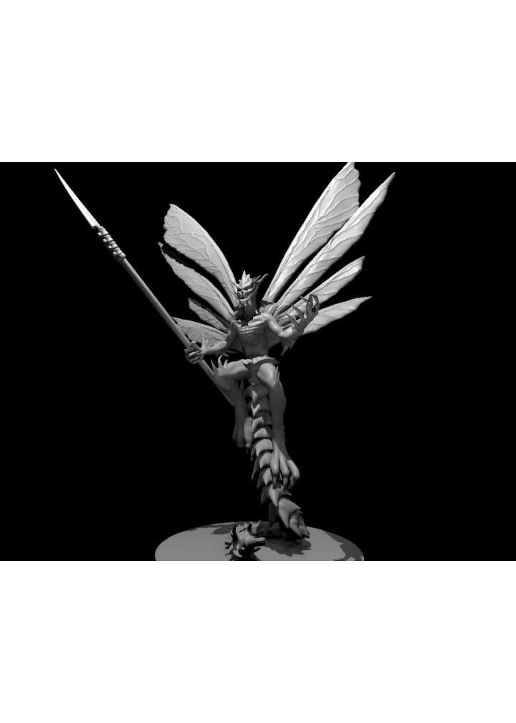 Bone Devil Flying With Polearm (Patreon Mz4250)