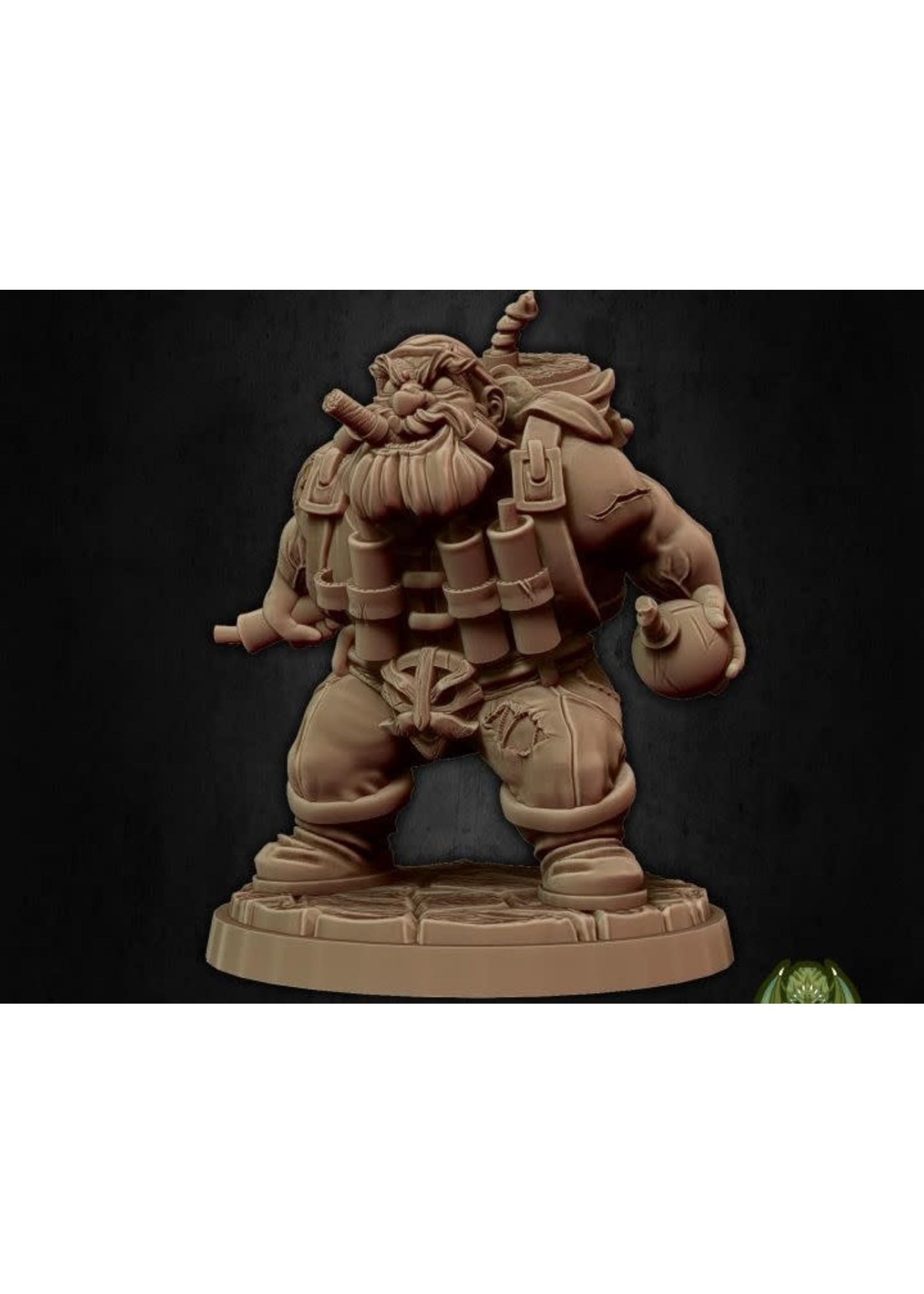 Dwari The Dynamiter (Hold My Dwarf Ks)