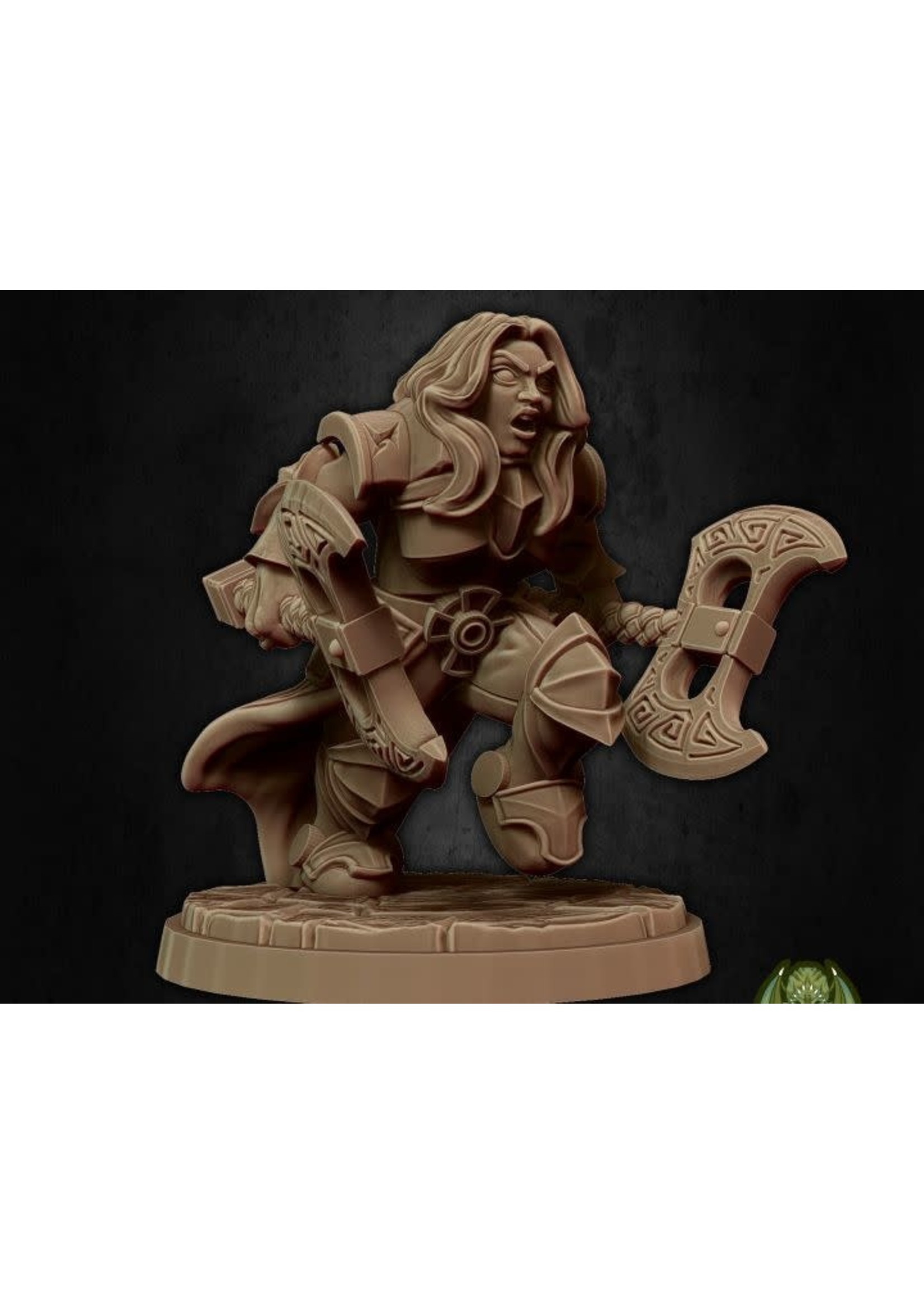 Kinessa The Fury (Hold My Dwarf Ks)