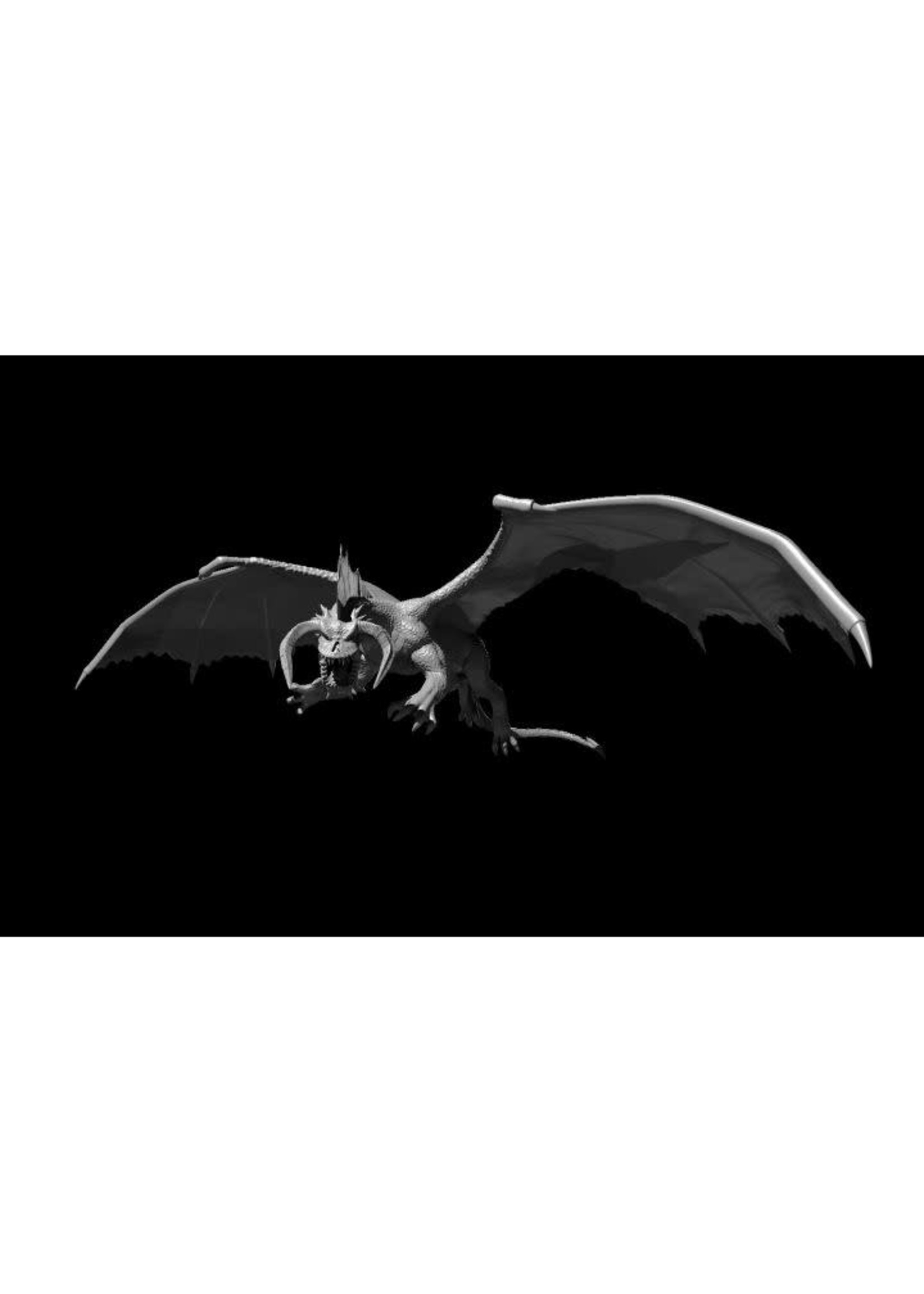 Black Dragon Young Flying