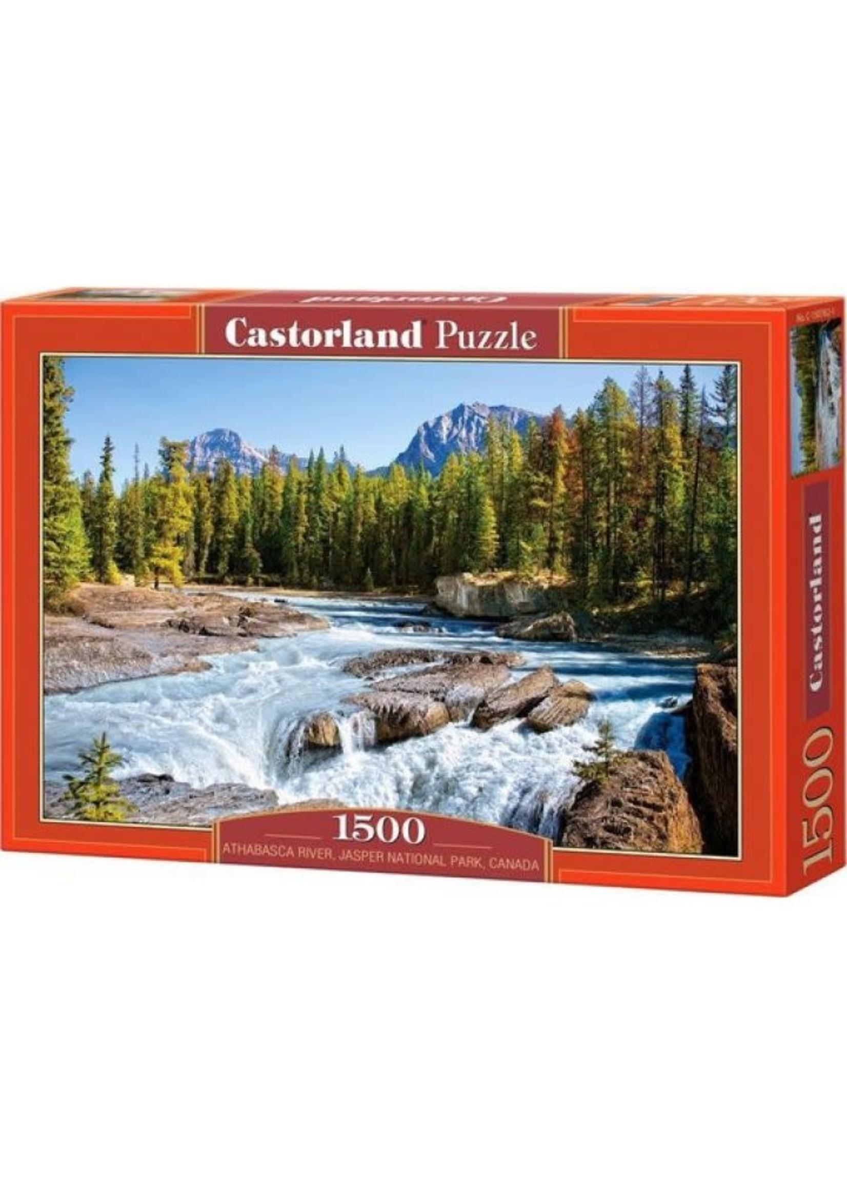 Athabasca River, Jasper National Park, Can. 1500 Stukjes