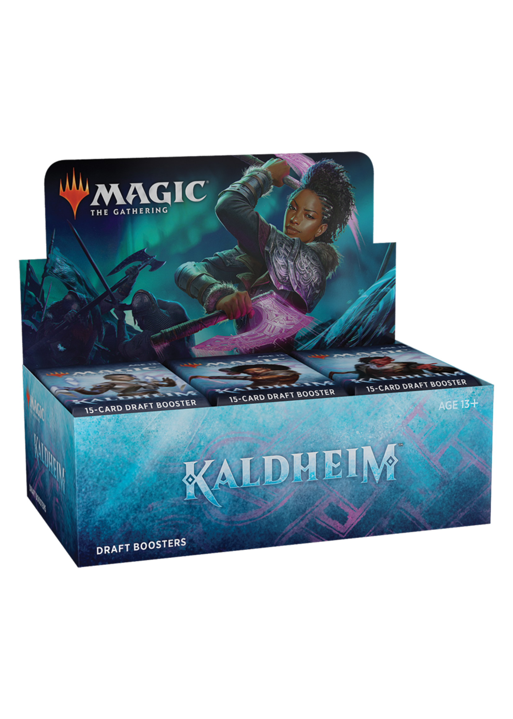 Mtg - Kaldheim Draft Booster Display (36 Packs)