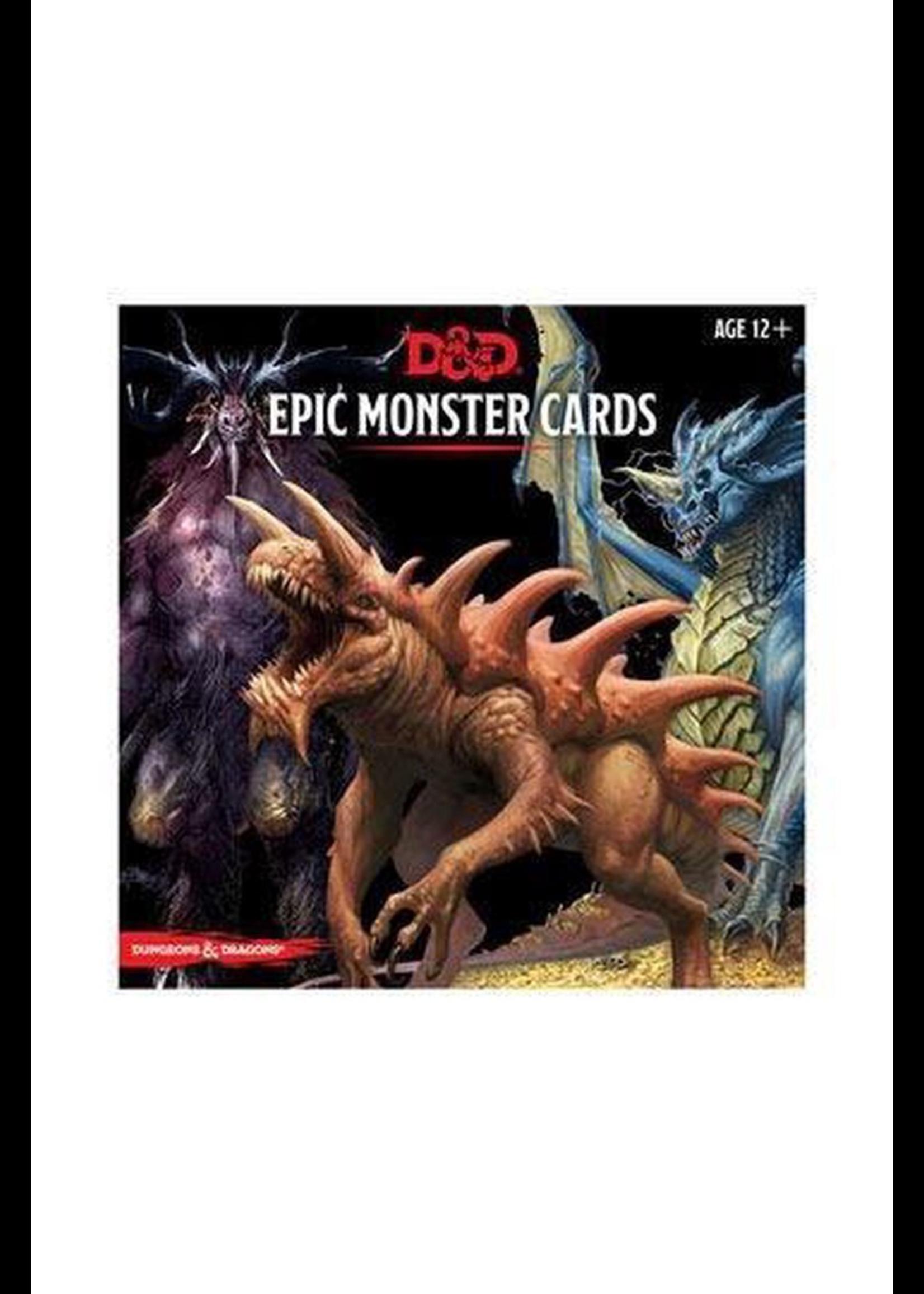 D&D Monster Cards - Epic Monster Cards