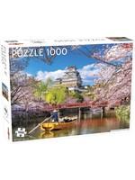 Puzzel Cherry Blossoms In Himeji Japan 1000 Stukjes