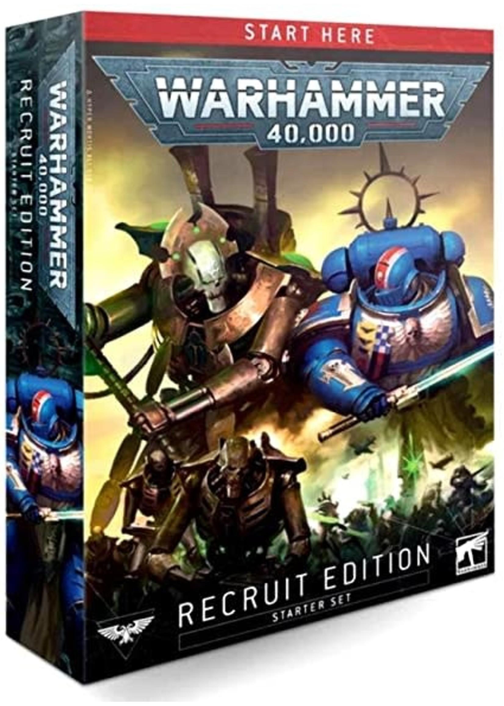 40-04 Warhammer 40000 Recruit Edition Starter Set