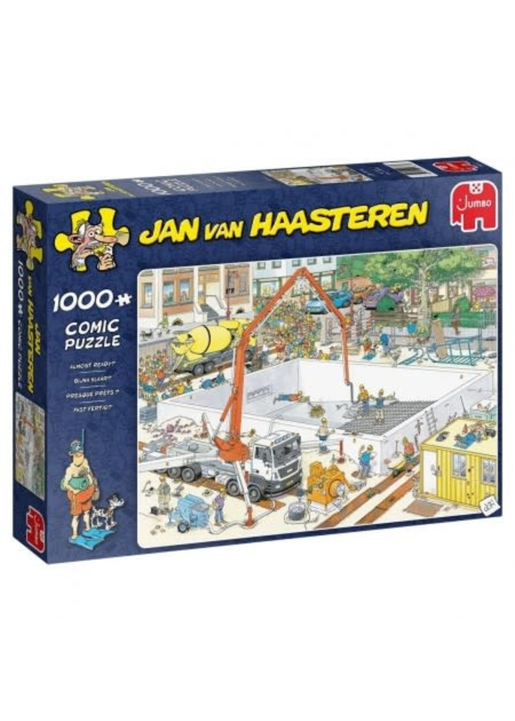 Bijna Klaar? - Jan van Haasteren (1000)