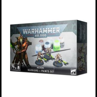 Necrons Warriors + Paint Set