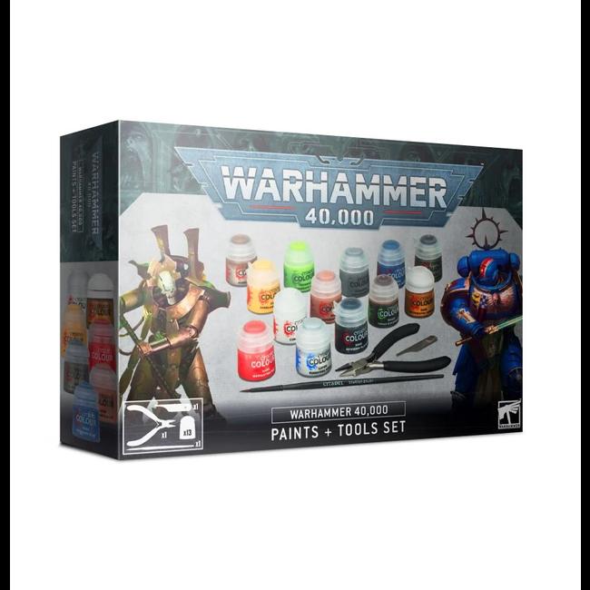 Warhammer 40000 Paints+Tools Set