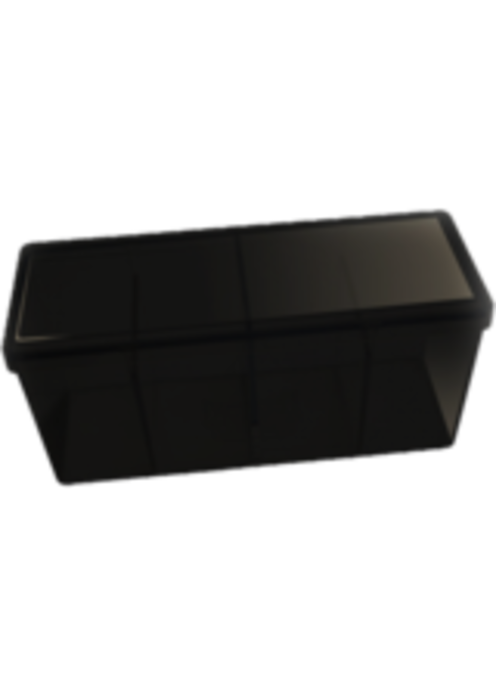 Dragon Shield Four Compartment Box Black