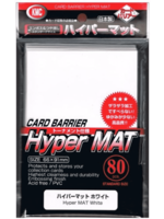 Sleeves Kmc Hyper Mat 80St White