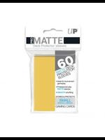 Ultra Pro Matte Small Yellow Sleeves