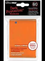 Ultro Pro Matte Small Sleeves Orange