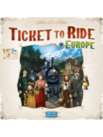 Ticket To Ride - 15Th Anniversary Deluxe - Europa - Pre-Order 28/5
