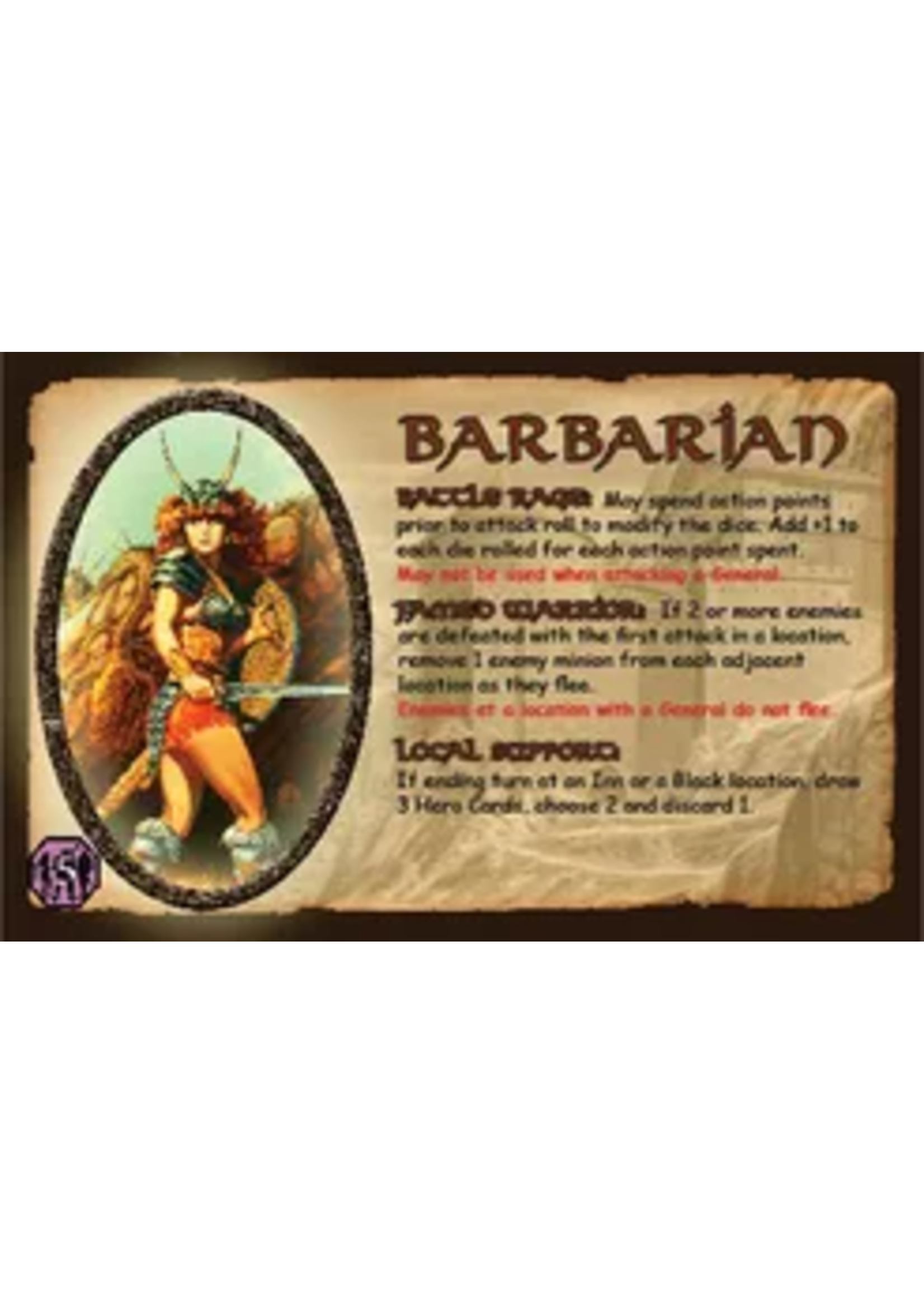 Defender Of The Realm The Barbarian
