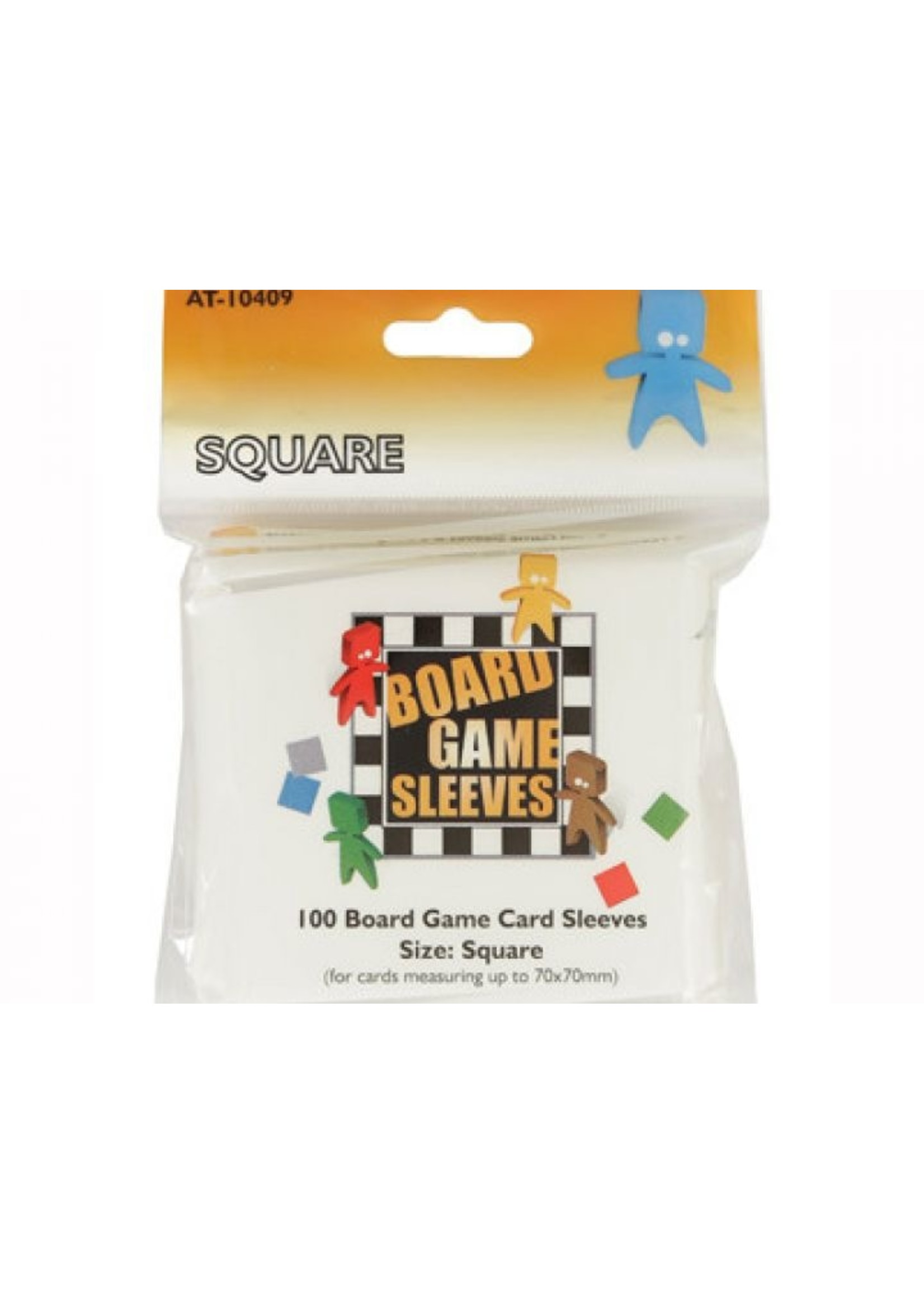 Sleeves Board Game - Square (69X69mm) - 100Pcs