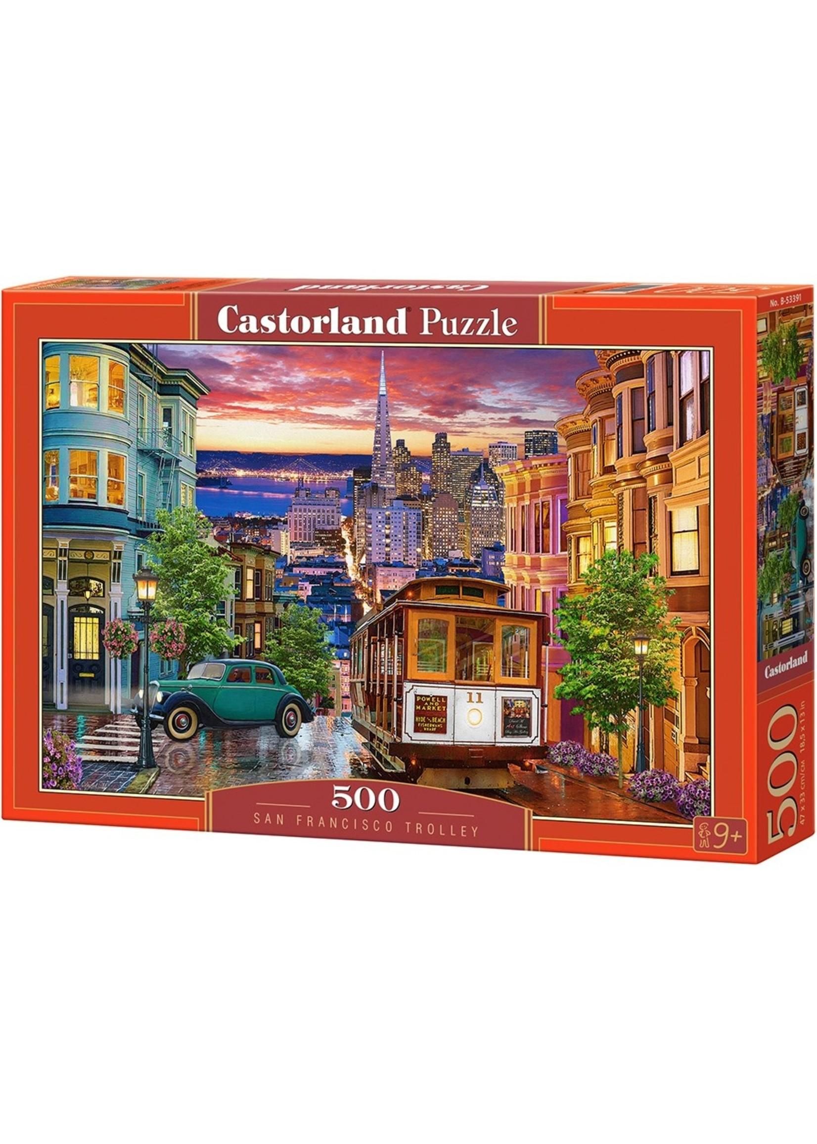 Castorland puzzle San Francisco Trolley 500st