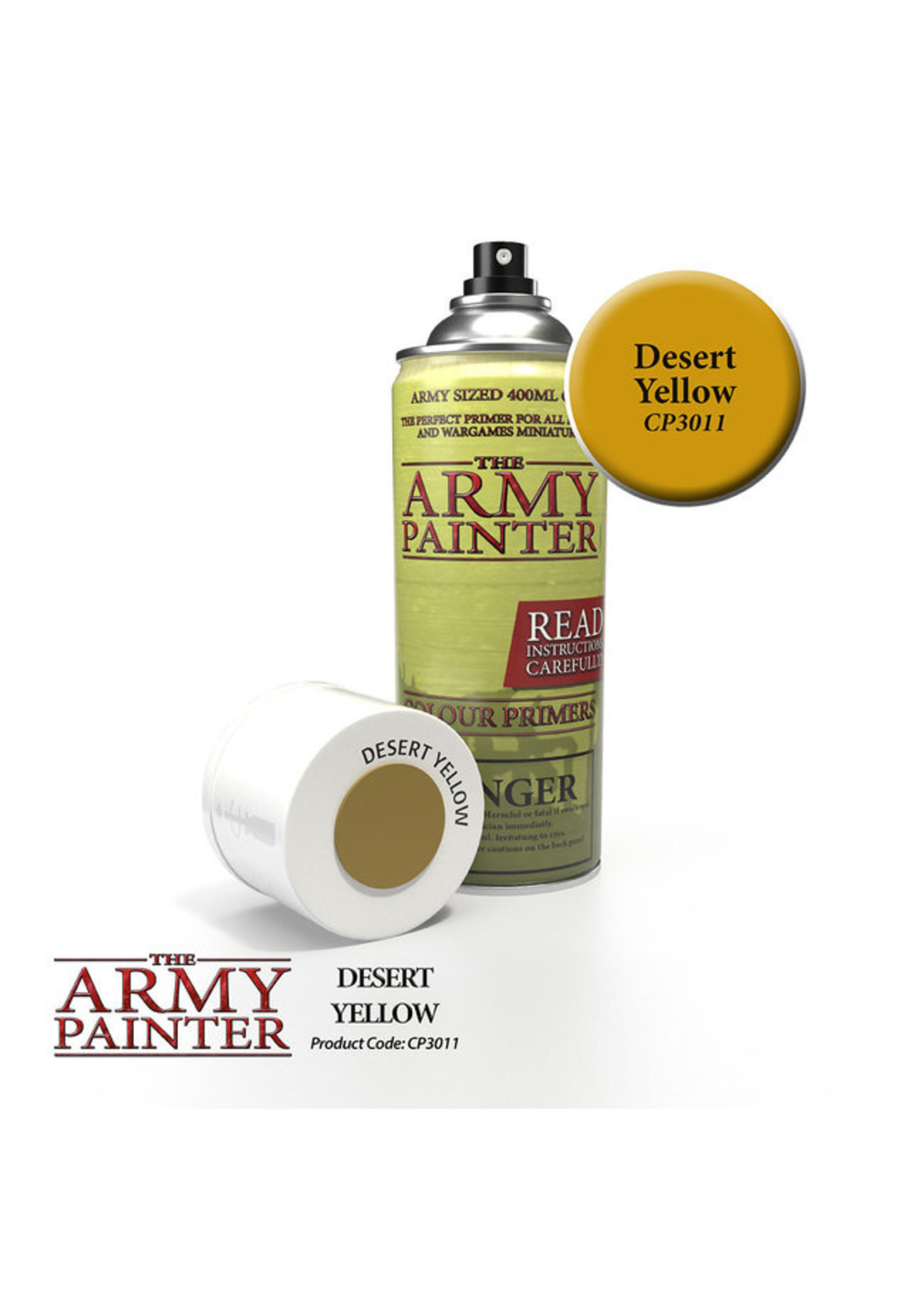 Army Painter Colour Primer - Desert Yellow (400Ml)