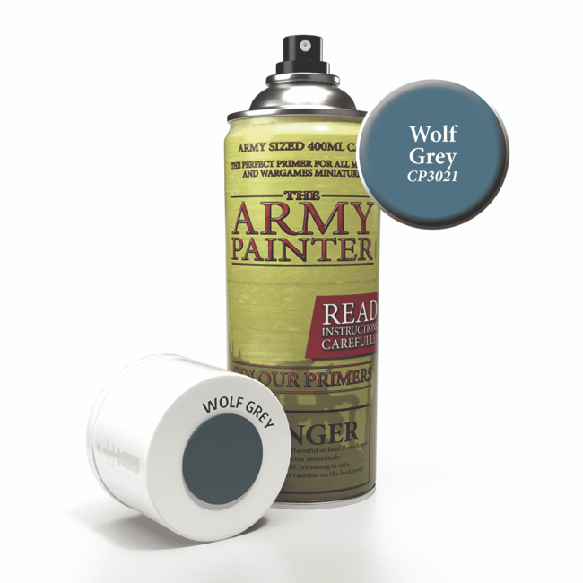 Army Painter Colour Primer - Wolf Grey (400Ml)