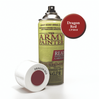 Army Painter Colour Primer - Dragon Red (400Ml)