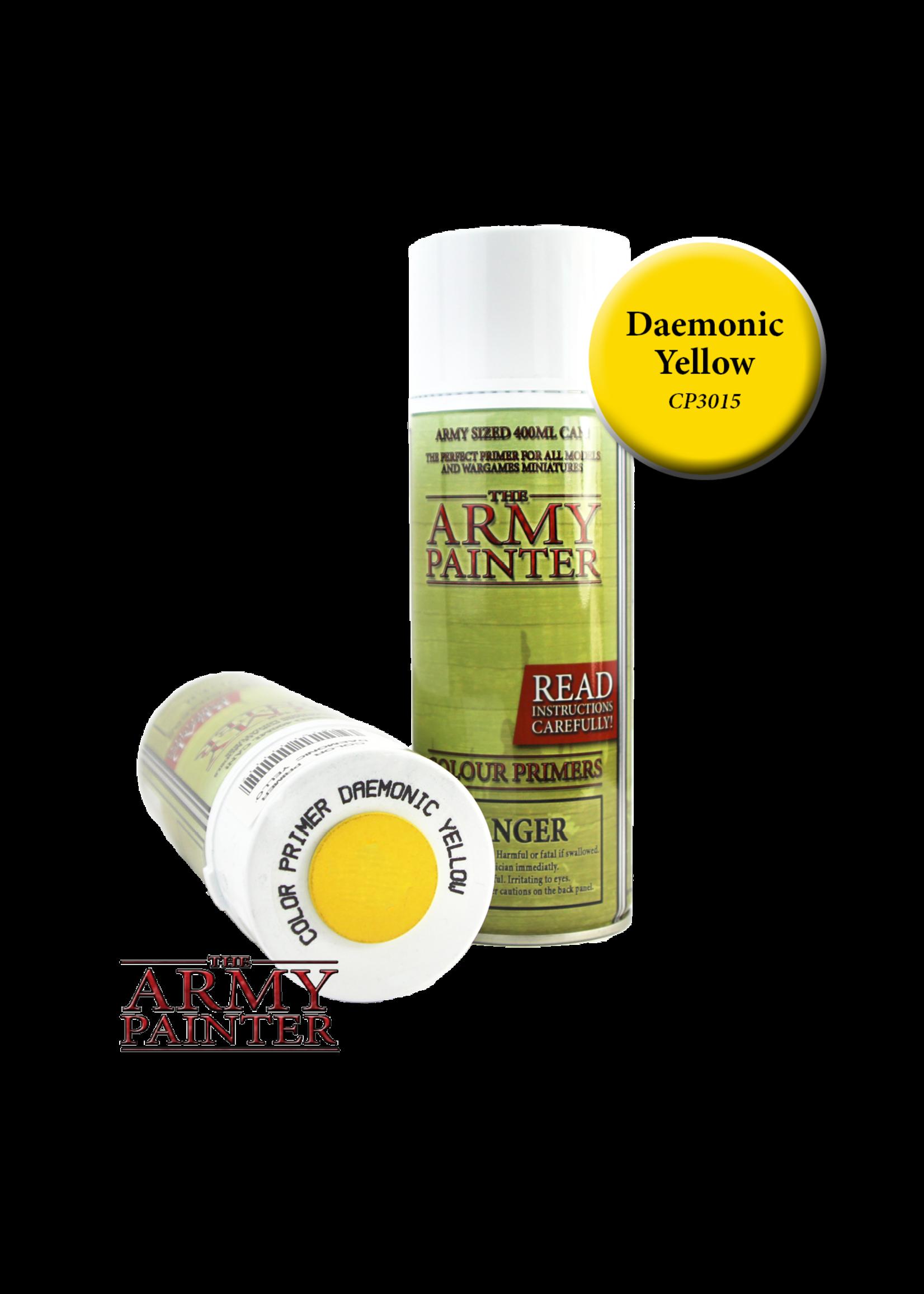 Army Painter Colour Primer - Daemonic Yellow (400Ml)