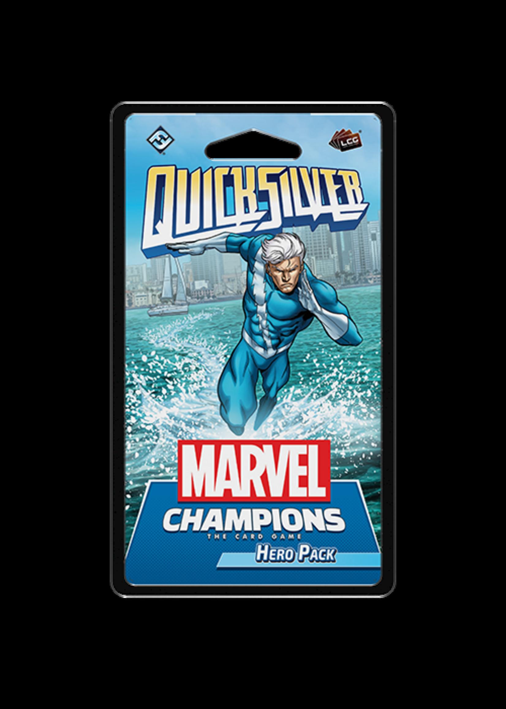 Marvel Lcg Champions Quicksilver Hero