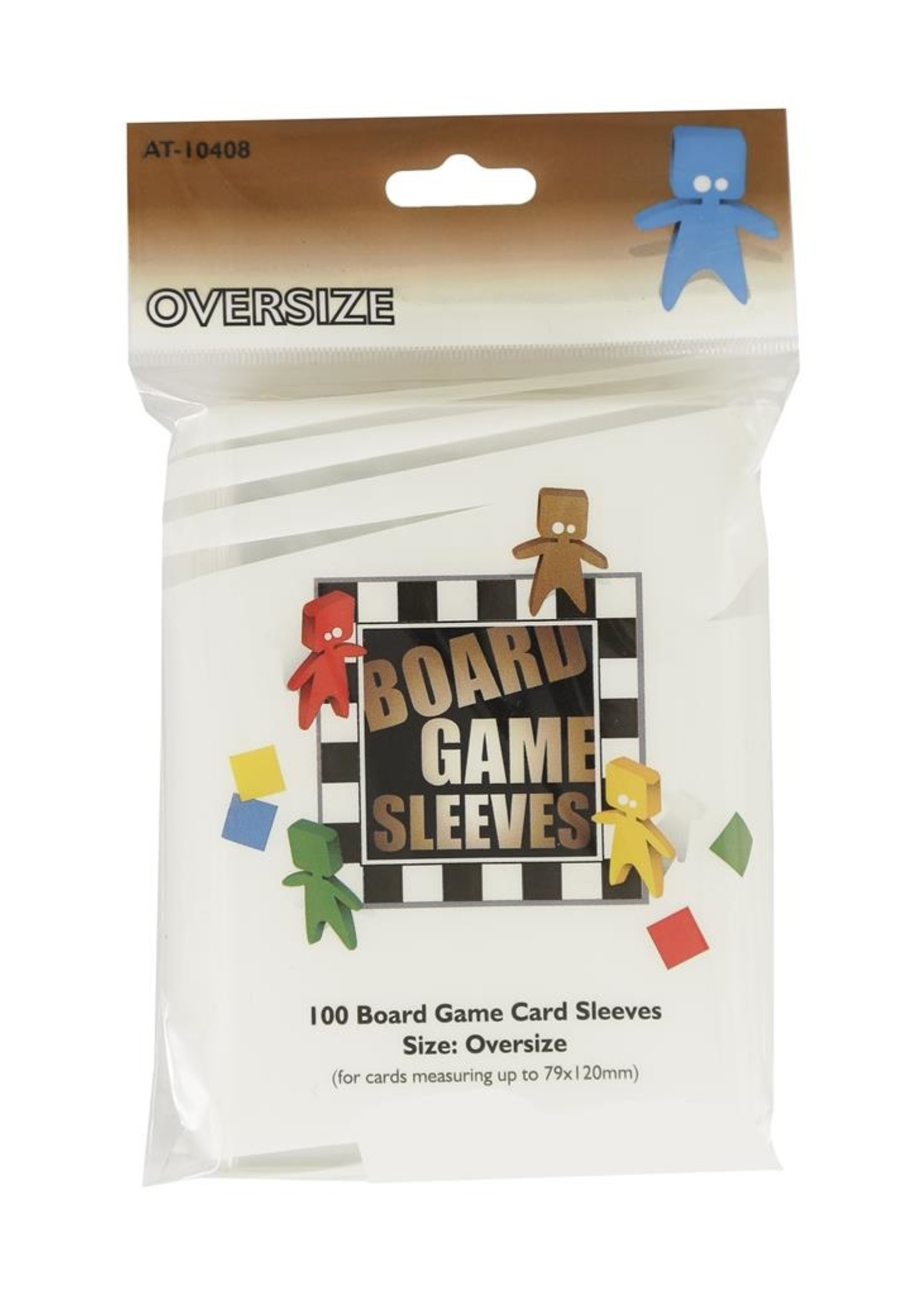 Sleeves Board Game - Oversize (82X124Mm) - 100Pcs
