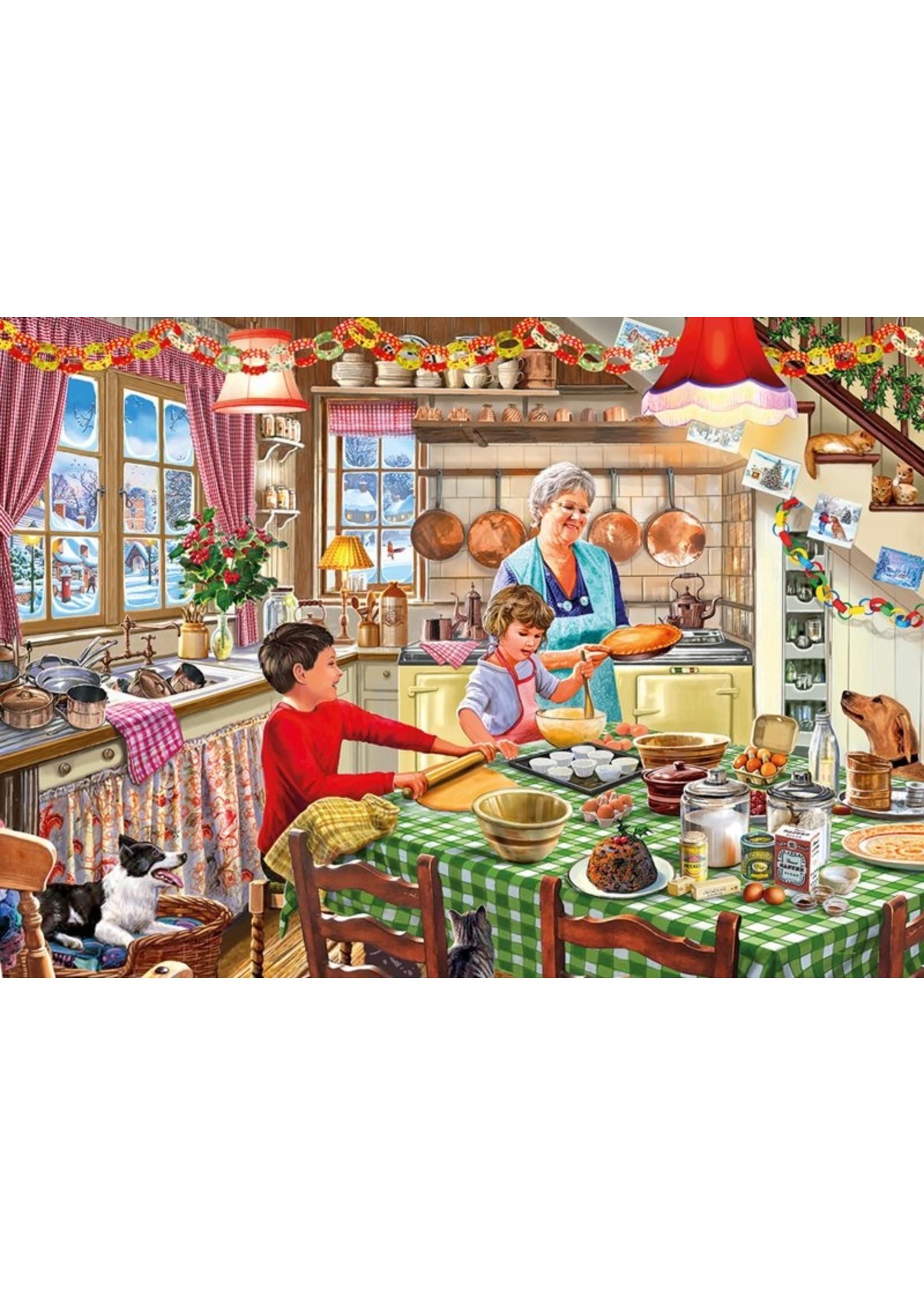 Gibsons Puzzel Christmas Treats