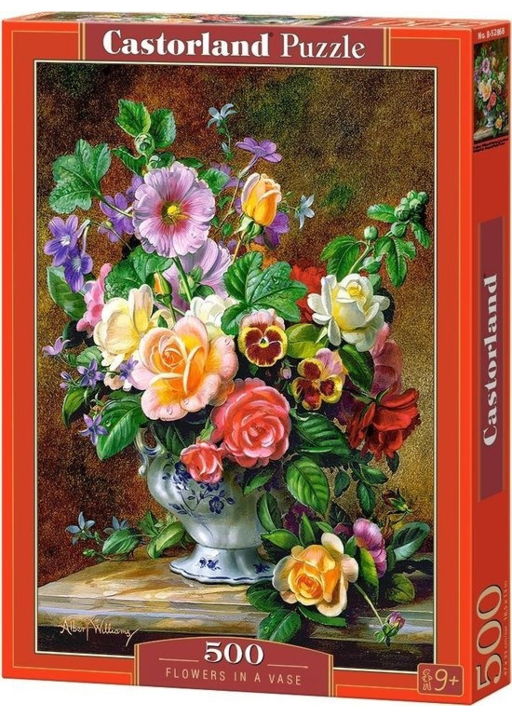Castorland Flowers In A Vase - 500 Stukjes