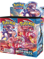 Pokémon Battle Styles Booster Display
