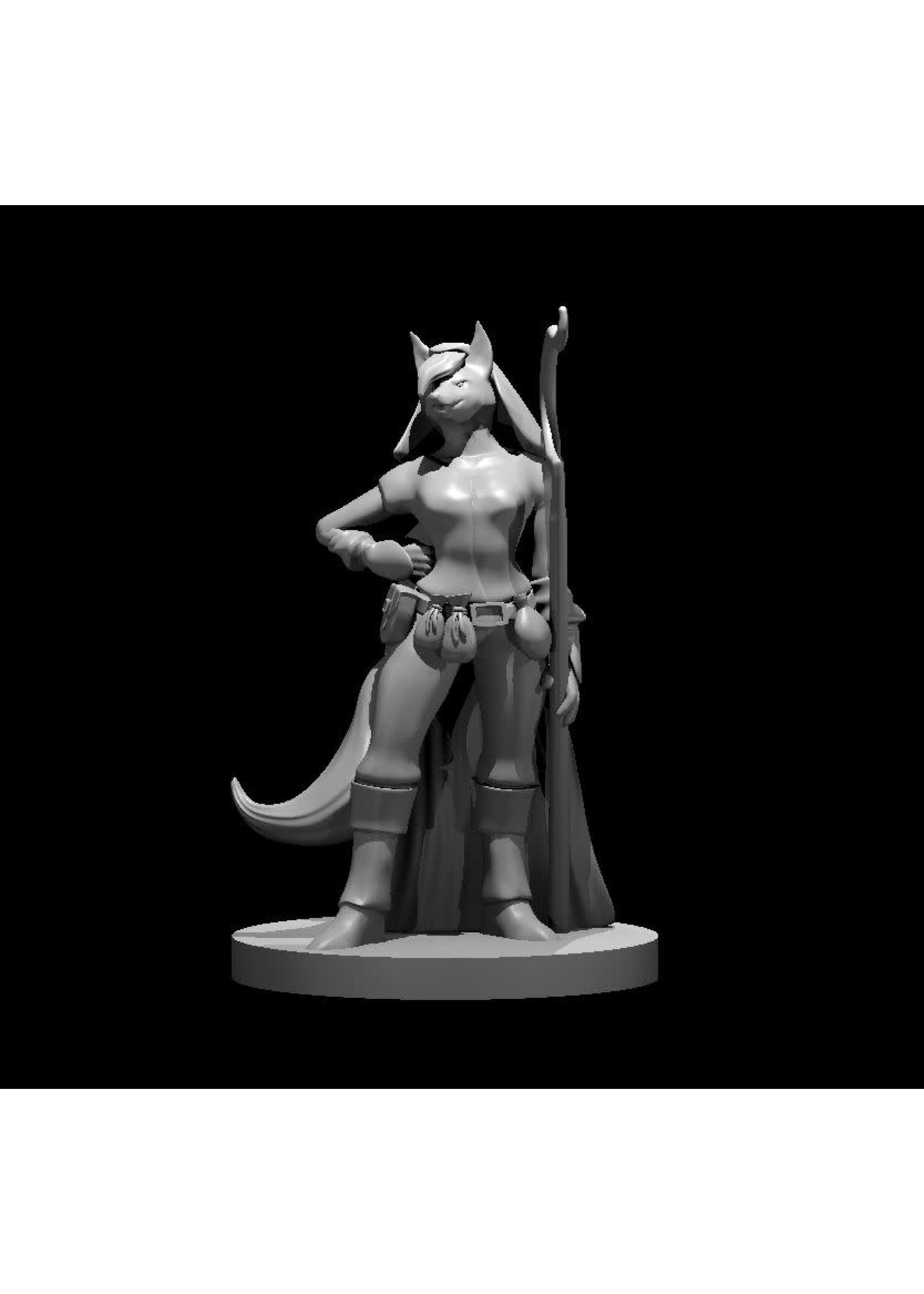 Kitsune Female Druid (Patreon Mz4250)