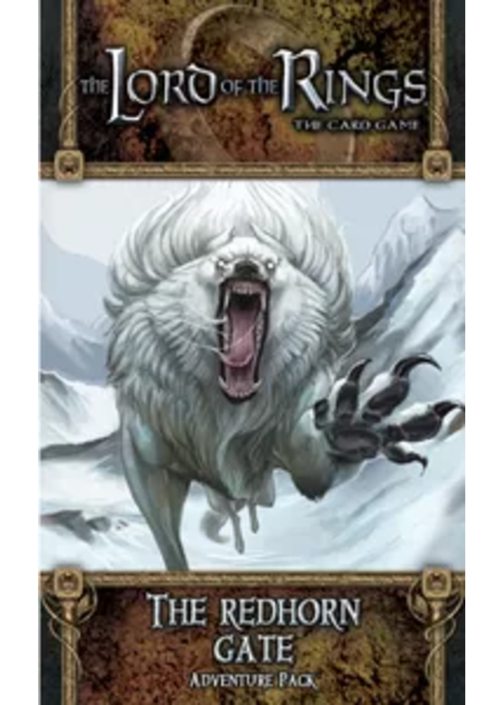 Lord of the Rings LCG: The Redhorn Gate