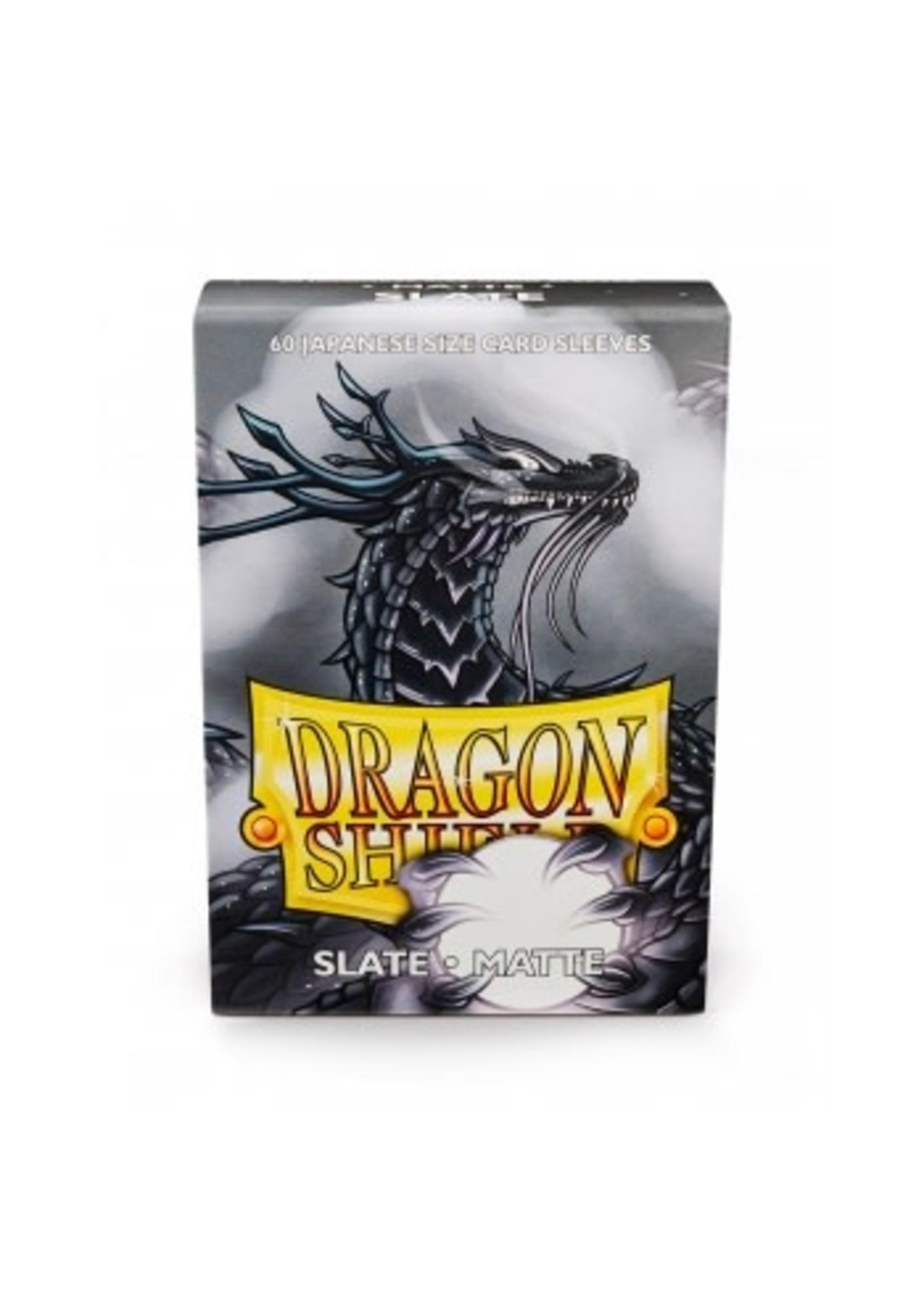 Dragon Shield Japanese Matte Sleeves - Slate (60 Sleeves)