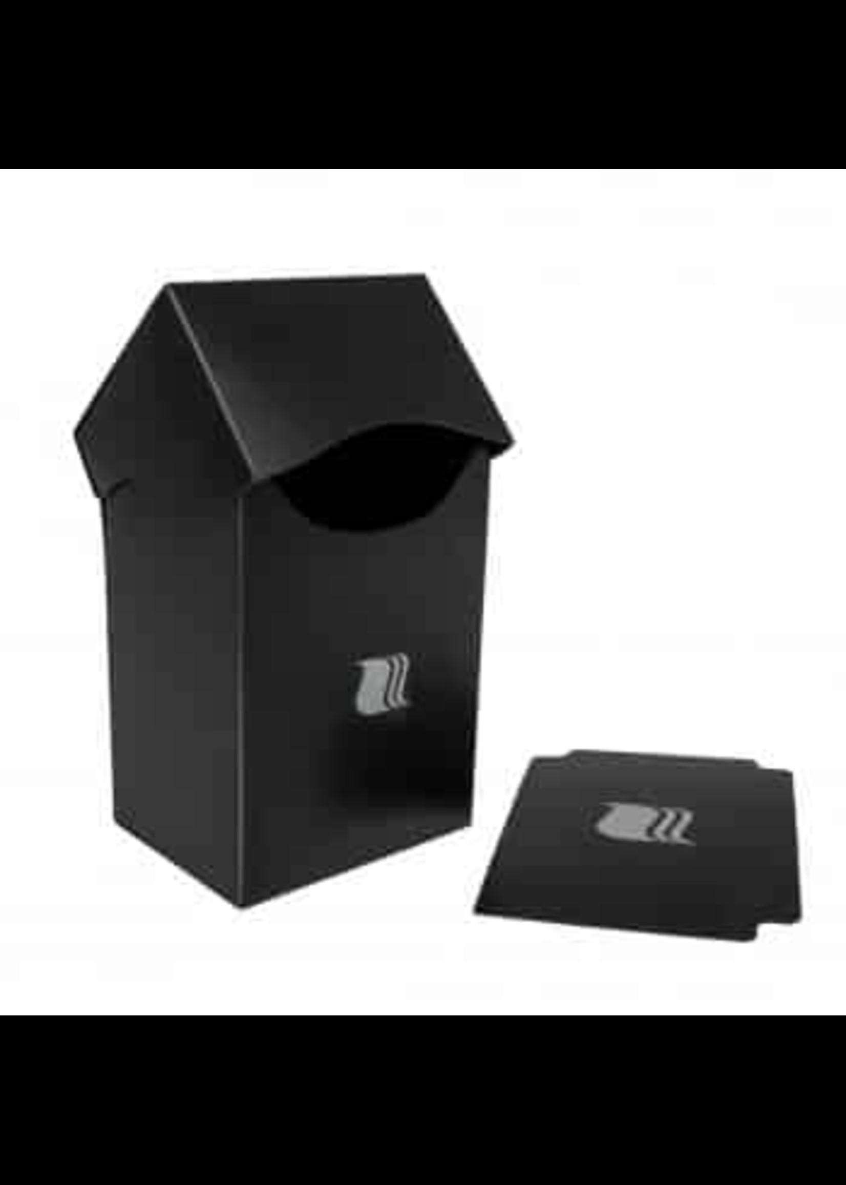 Blackfire Deck Holder Vertical - for 80+ Cards - Black