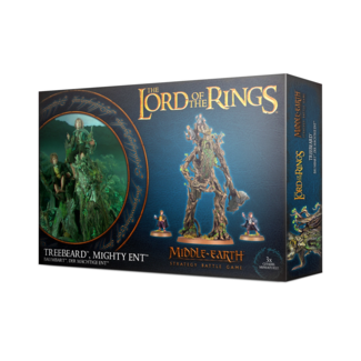 The lord of the rings Treebeard Mighty Ent