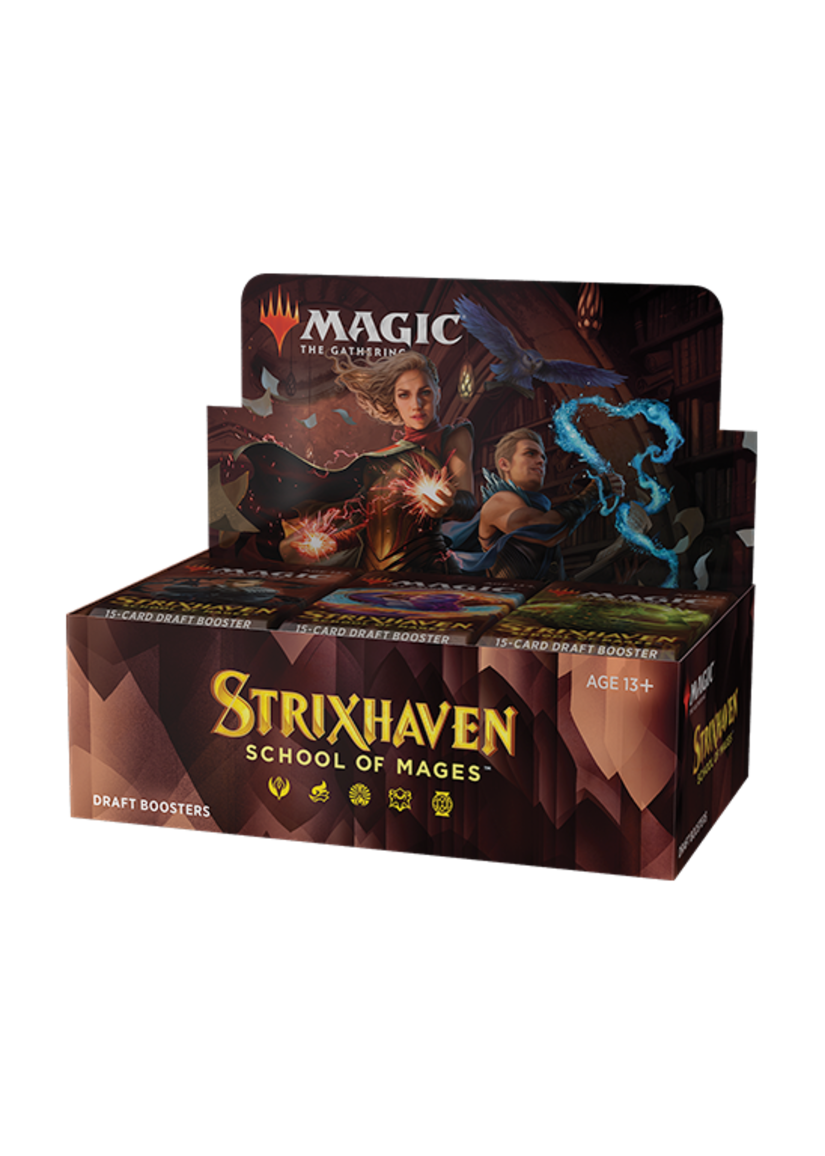 MTG - Strixhaven: School of Mages Draft Booster Display (36 Packs)