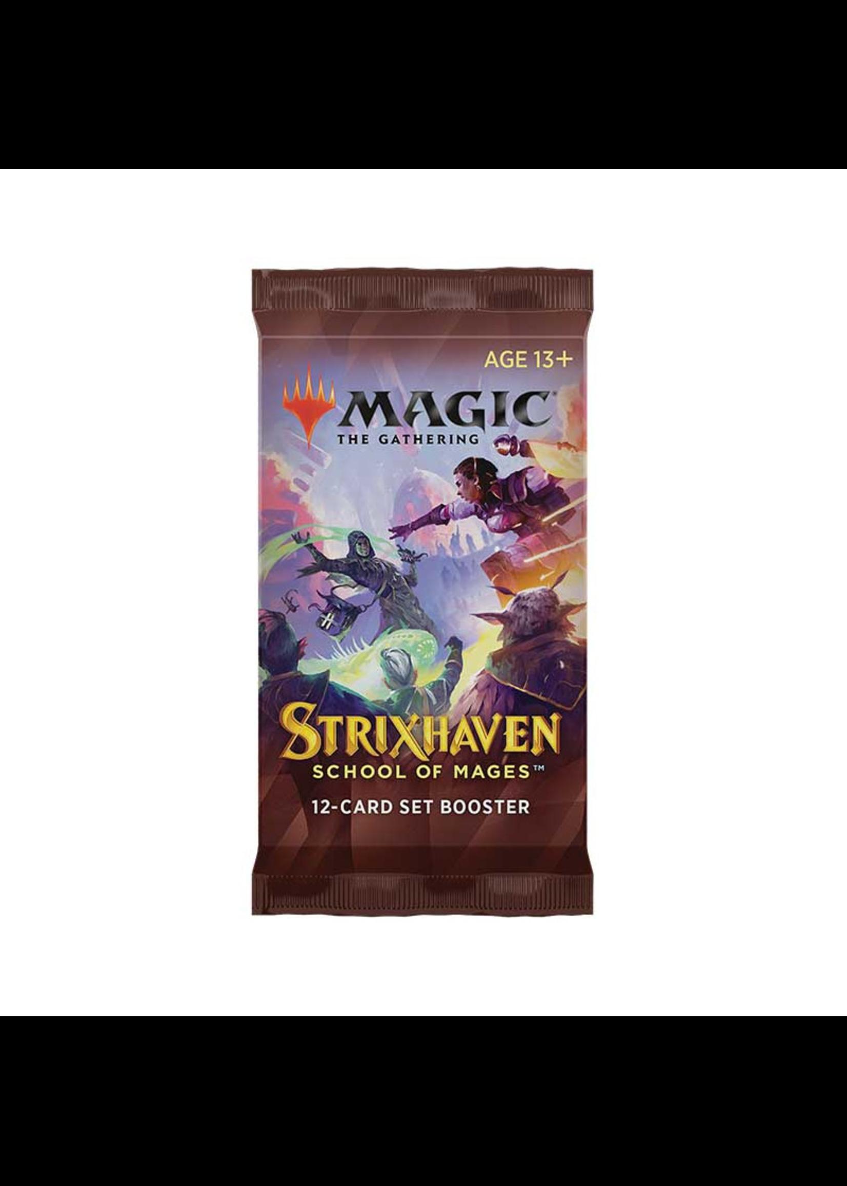 MTG - Strixhaven: School of Mages Set Booster