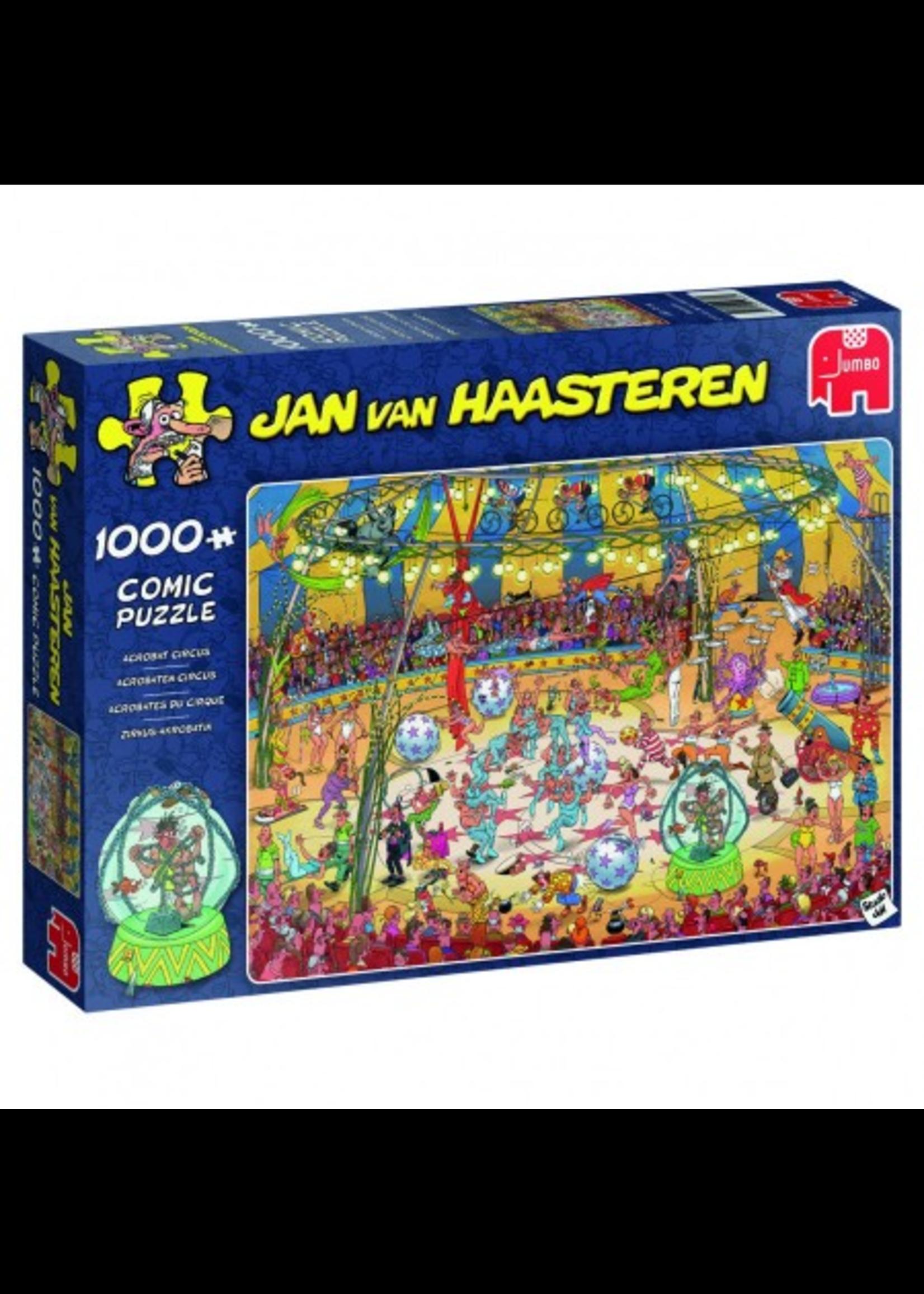Acrobaten Circus - Jan van Haasteren (1000)