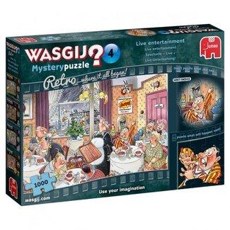Wasgij Mystery 4 Retro - Live Entertainment! (1000)