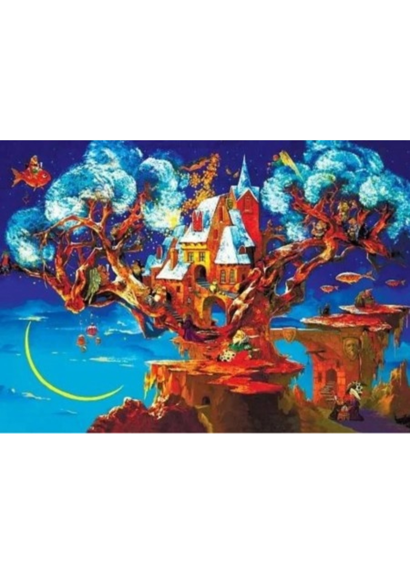 DaVICI Puzzel™ - Droomboom (193) - Houten Puzzel
