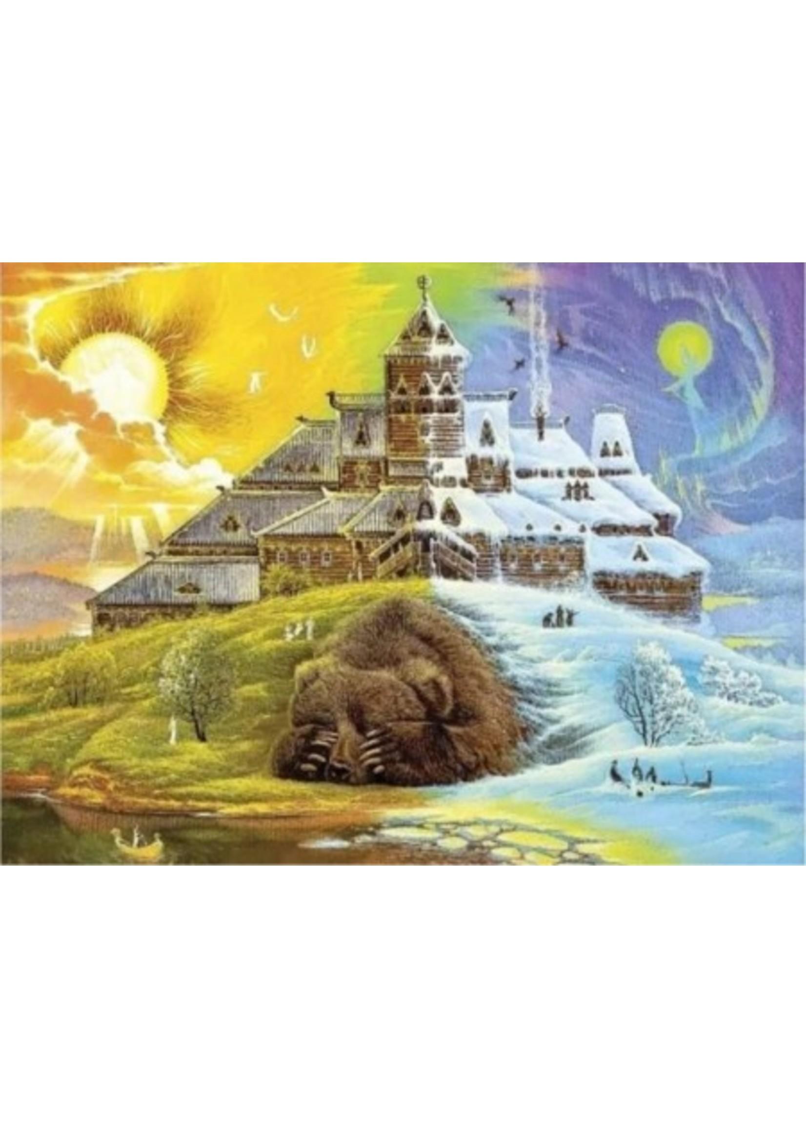 DaVICI Puzzel™ - De Ontwaking (450) - Houten Puzzel