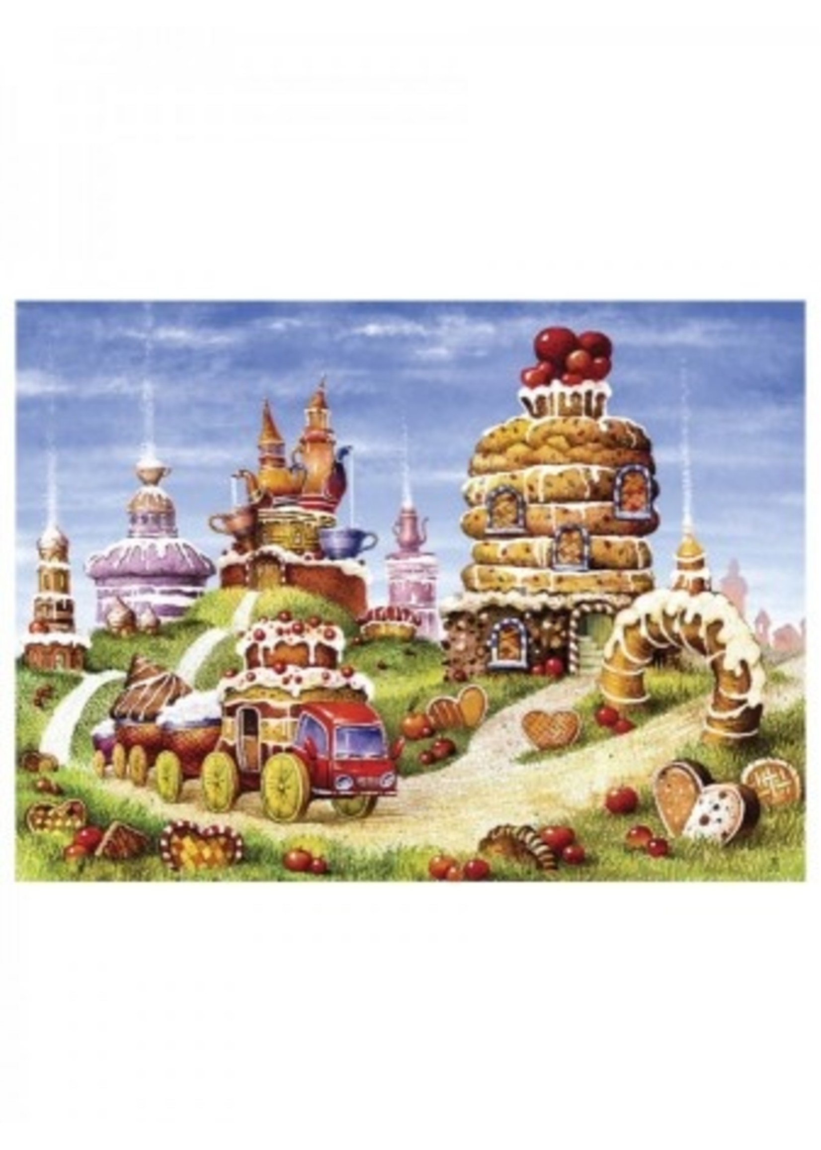 DaVICI Puzzel™ - Koekjesfabriek (170) - Houten Puzzel