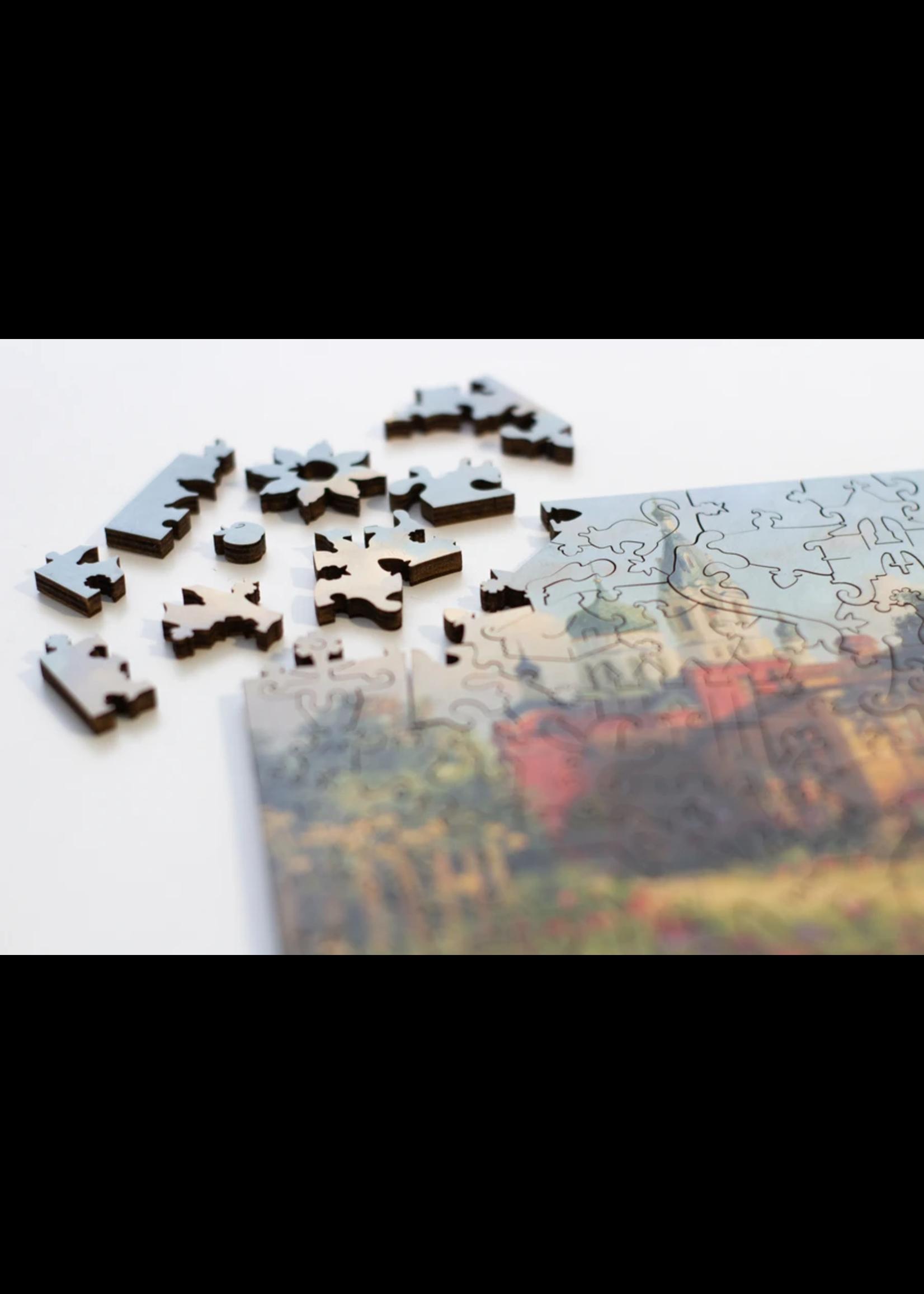 DaVICI Puzzel™ - Laatste Zomerdag (130) - Houten Puzzel