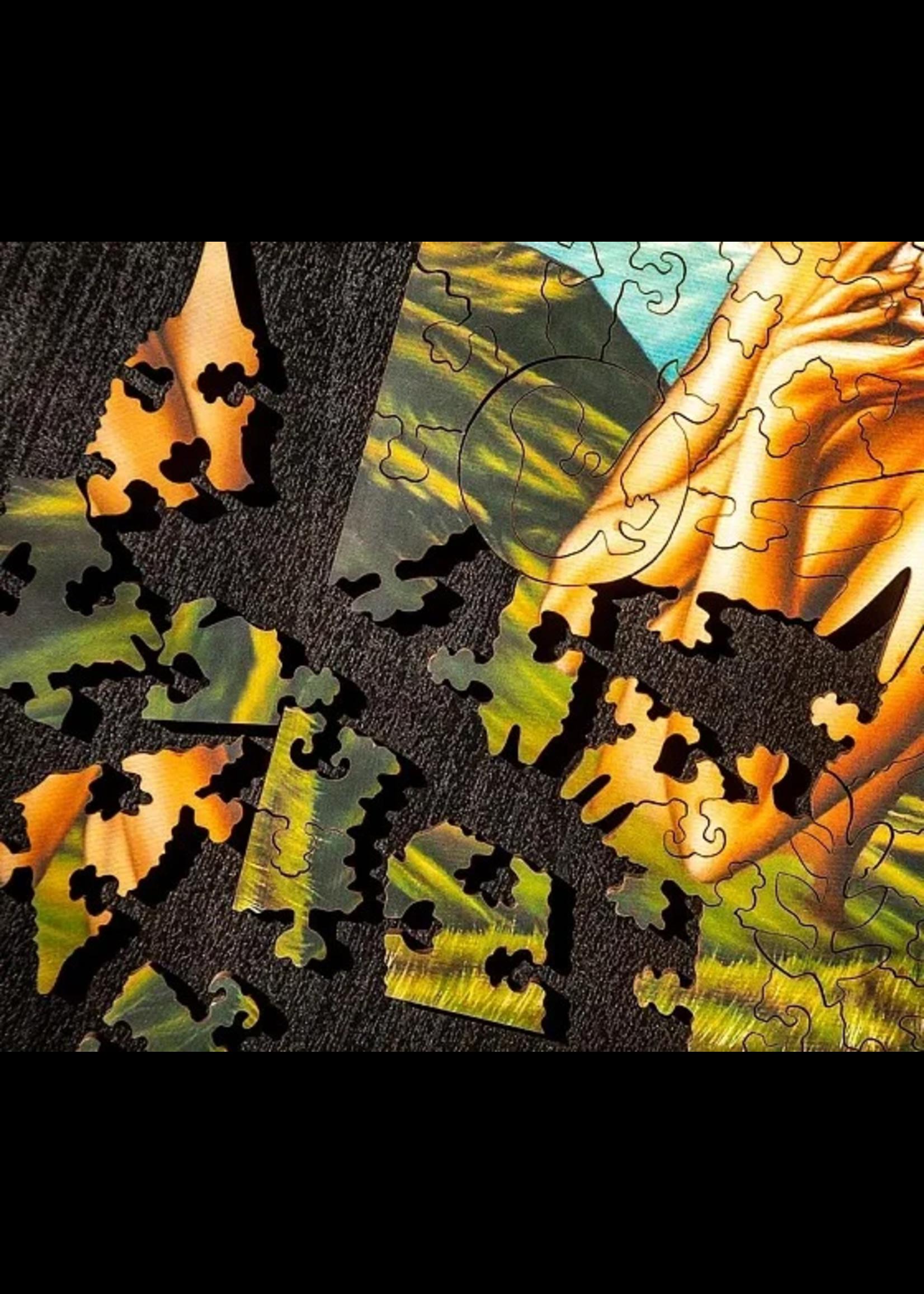 DaVICI Puzzel™ - Bloem In De Ziel (220) - Houten Puzzel