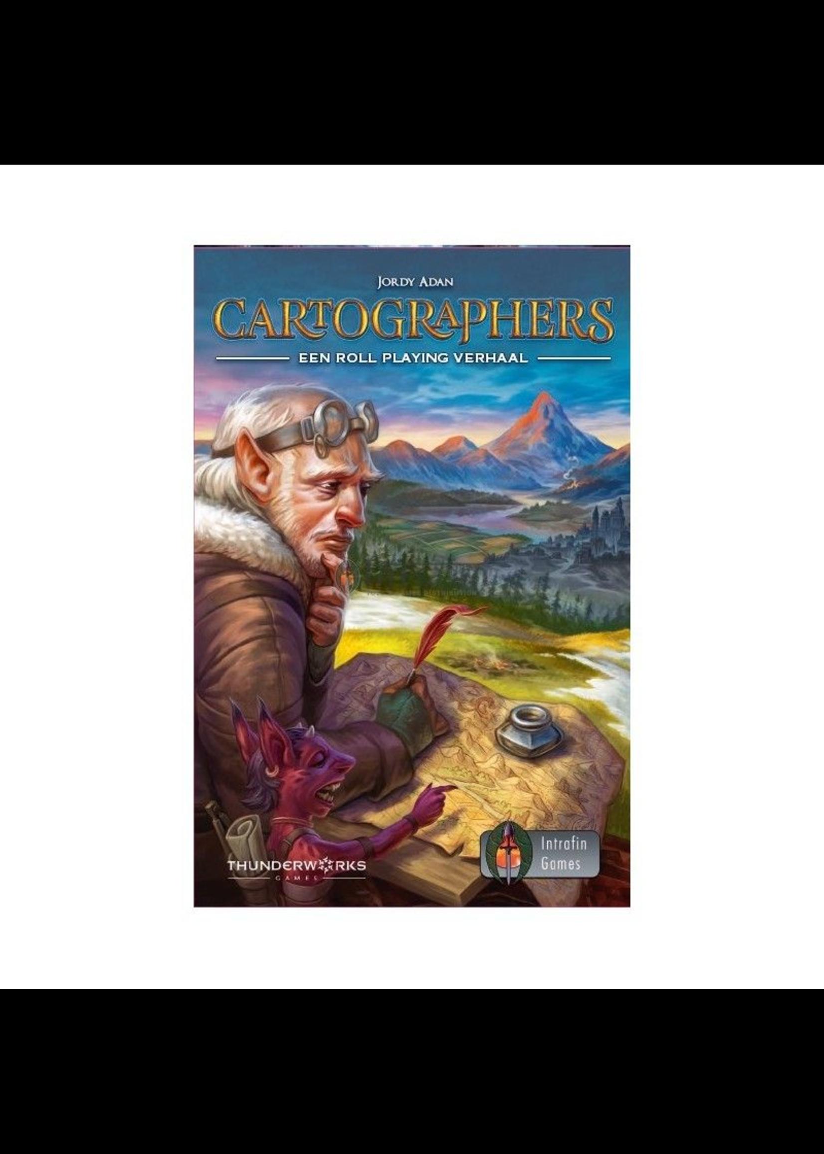 Cartographers: een Roll Playing verhaal NL - kaartspel