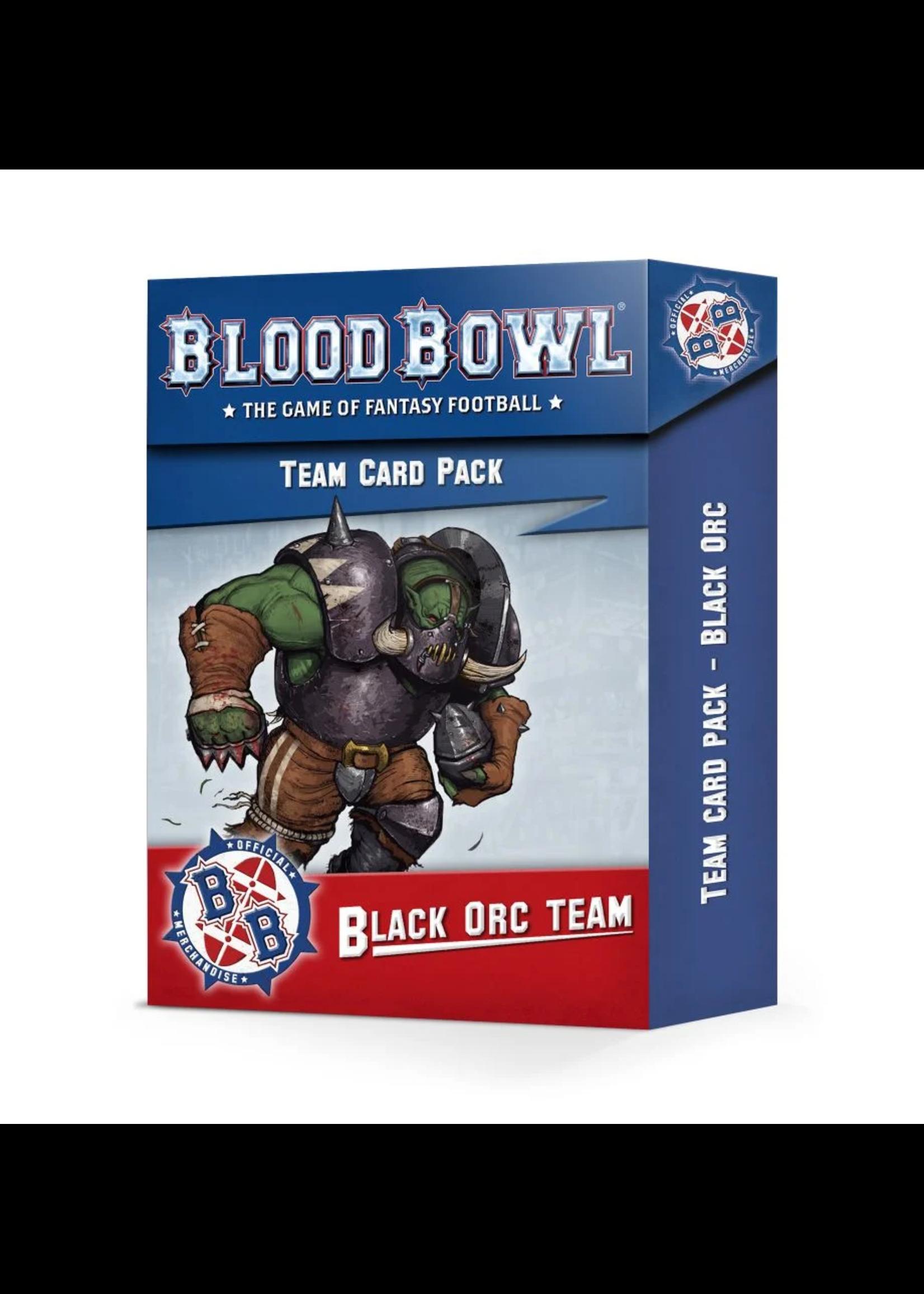 BLOOD BOWL: BLACK ORC TEAM CARD PACK (200-93)