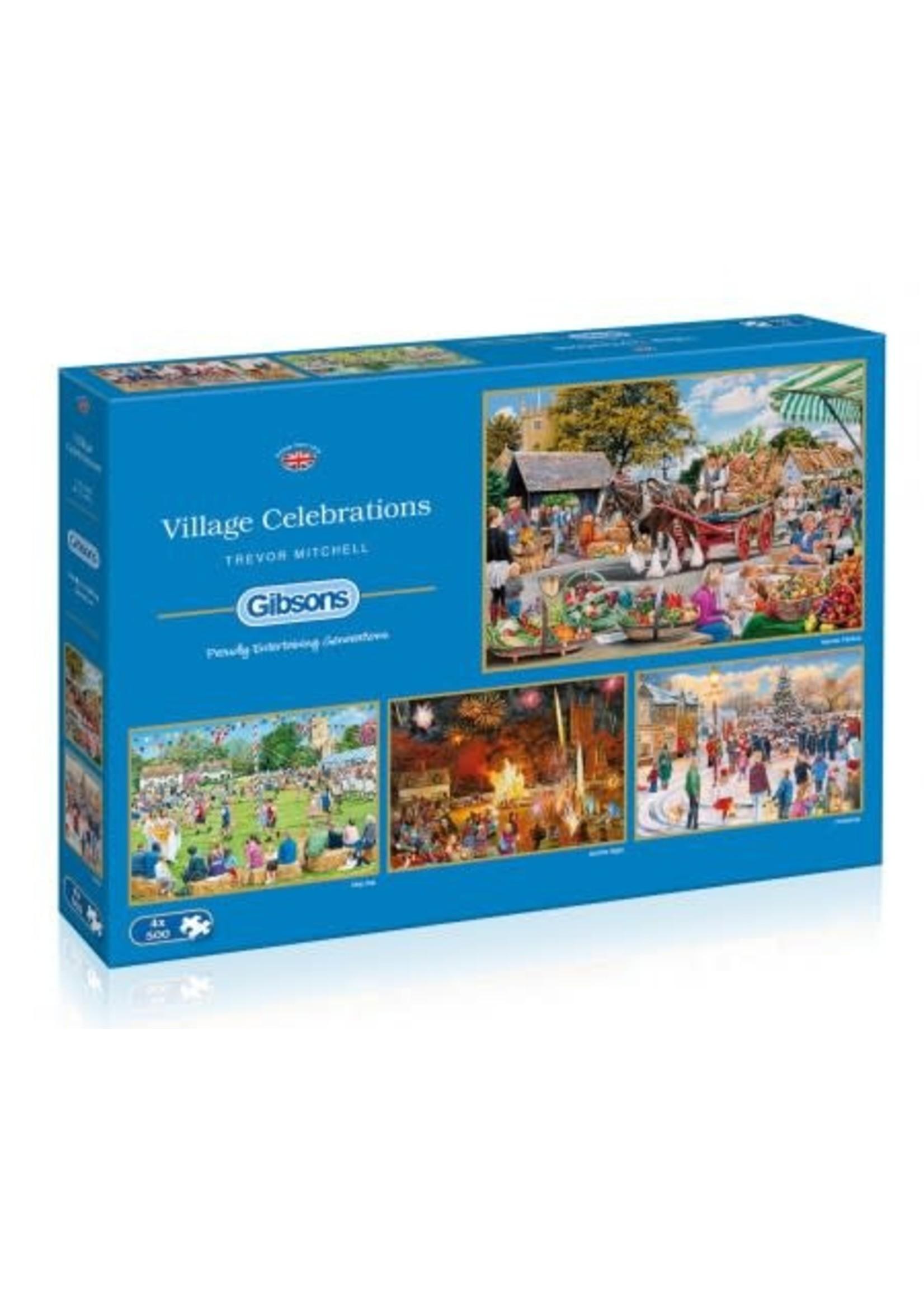 Gibsons Village Celebrations (4 x 500)